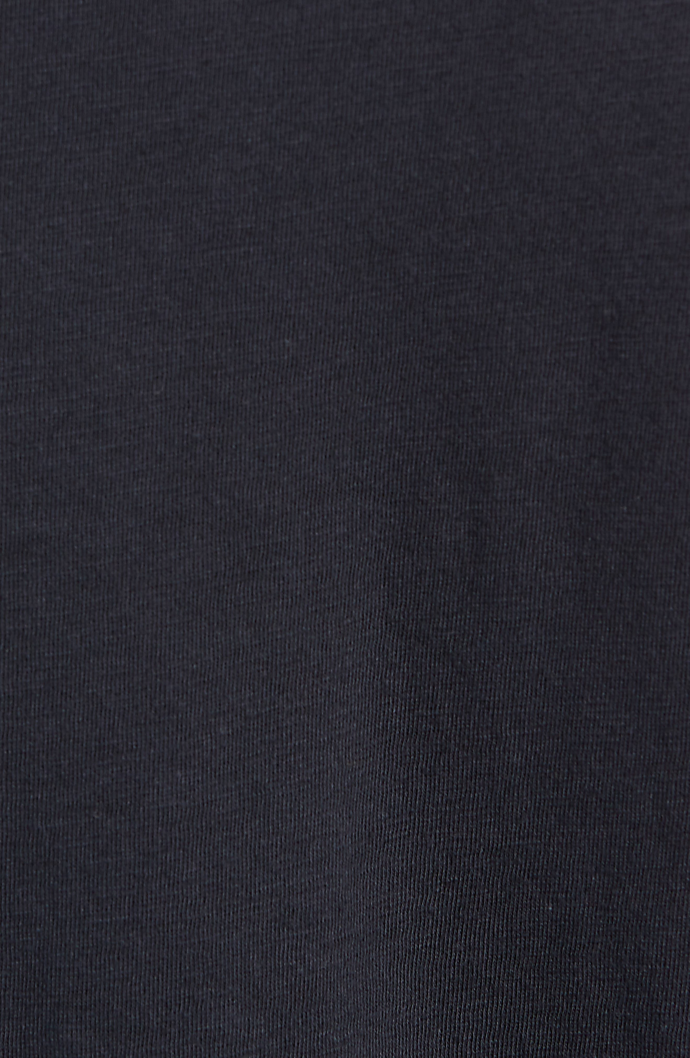 The Who Trim Fit T-Shirt,                             Alternate thumbnail 5, color,                             Black The Who