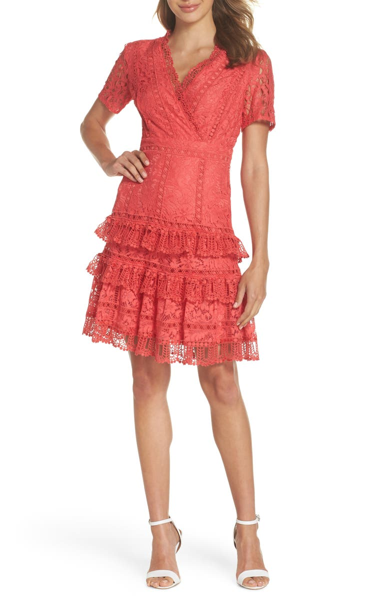 Arta Tiered Lace Dress