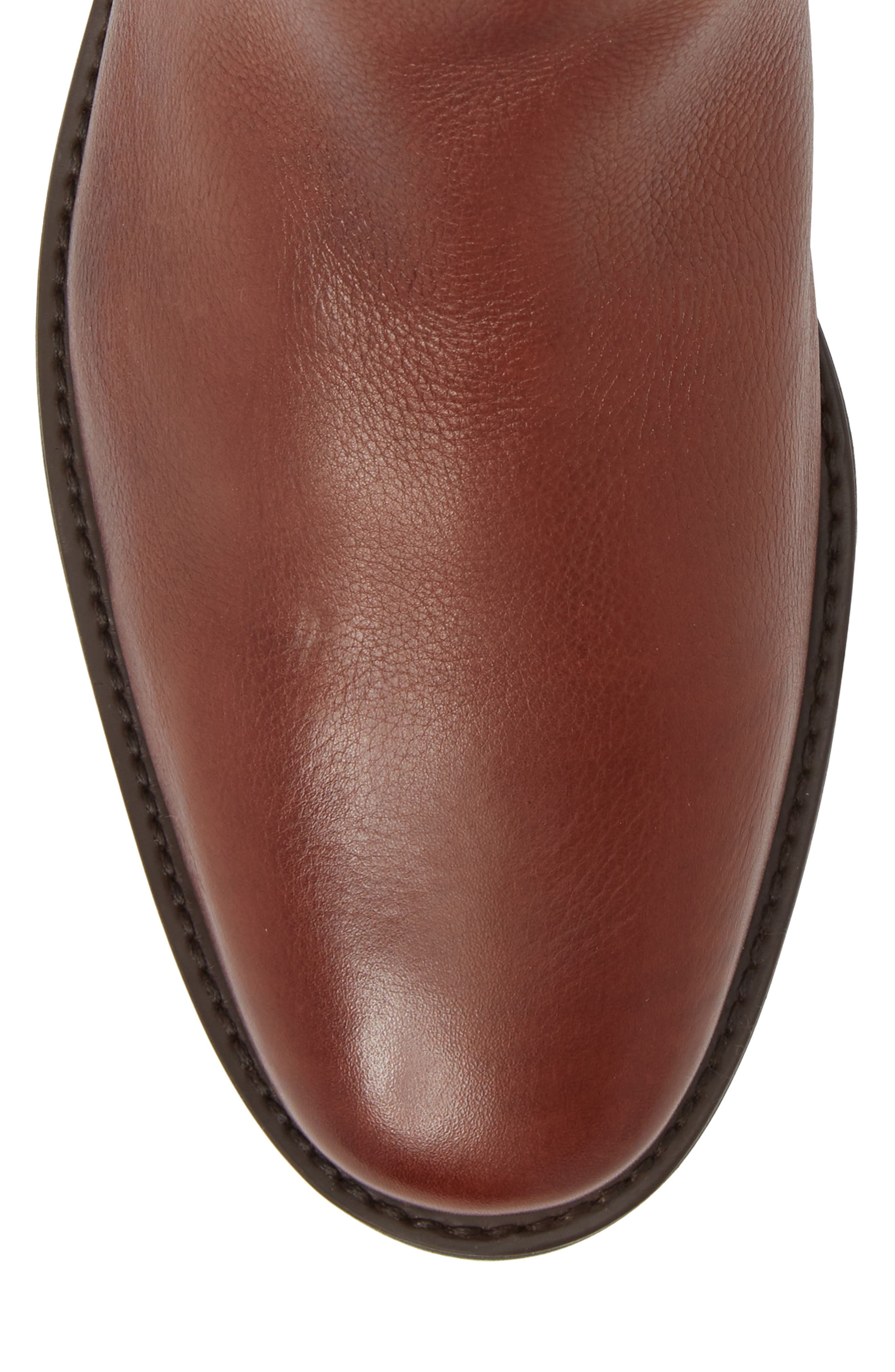 Cardoso Chelsea Boot,                             Alternate thumbnail 5, color,                             Floater Pinaho Leather