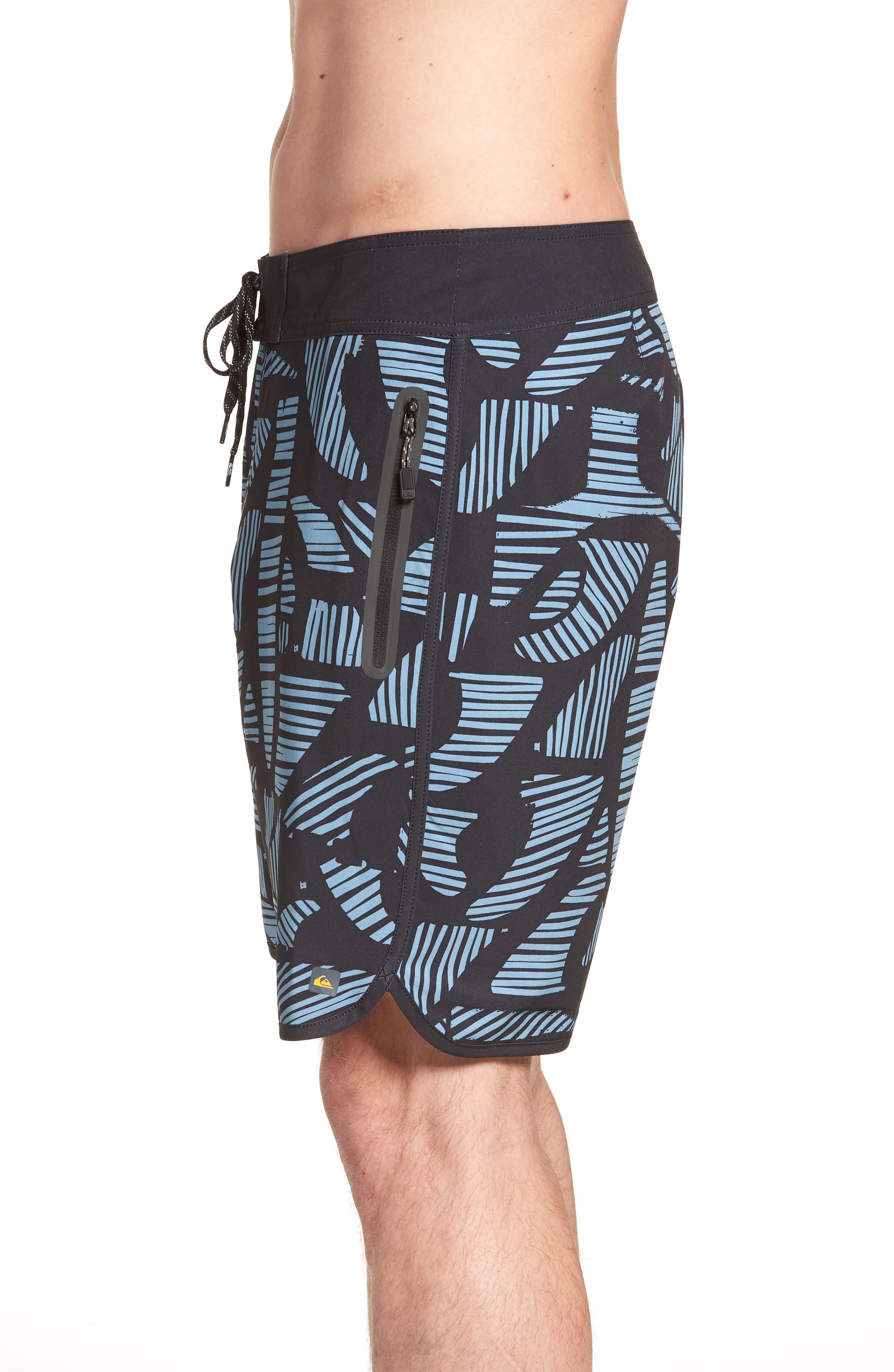 Odysea Board Shorts,                             Alternate thumbnail 5, color,                             Black