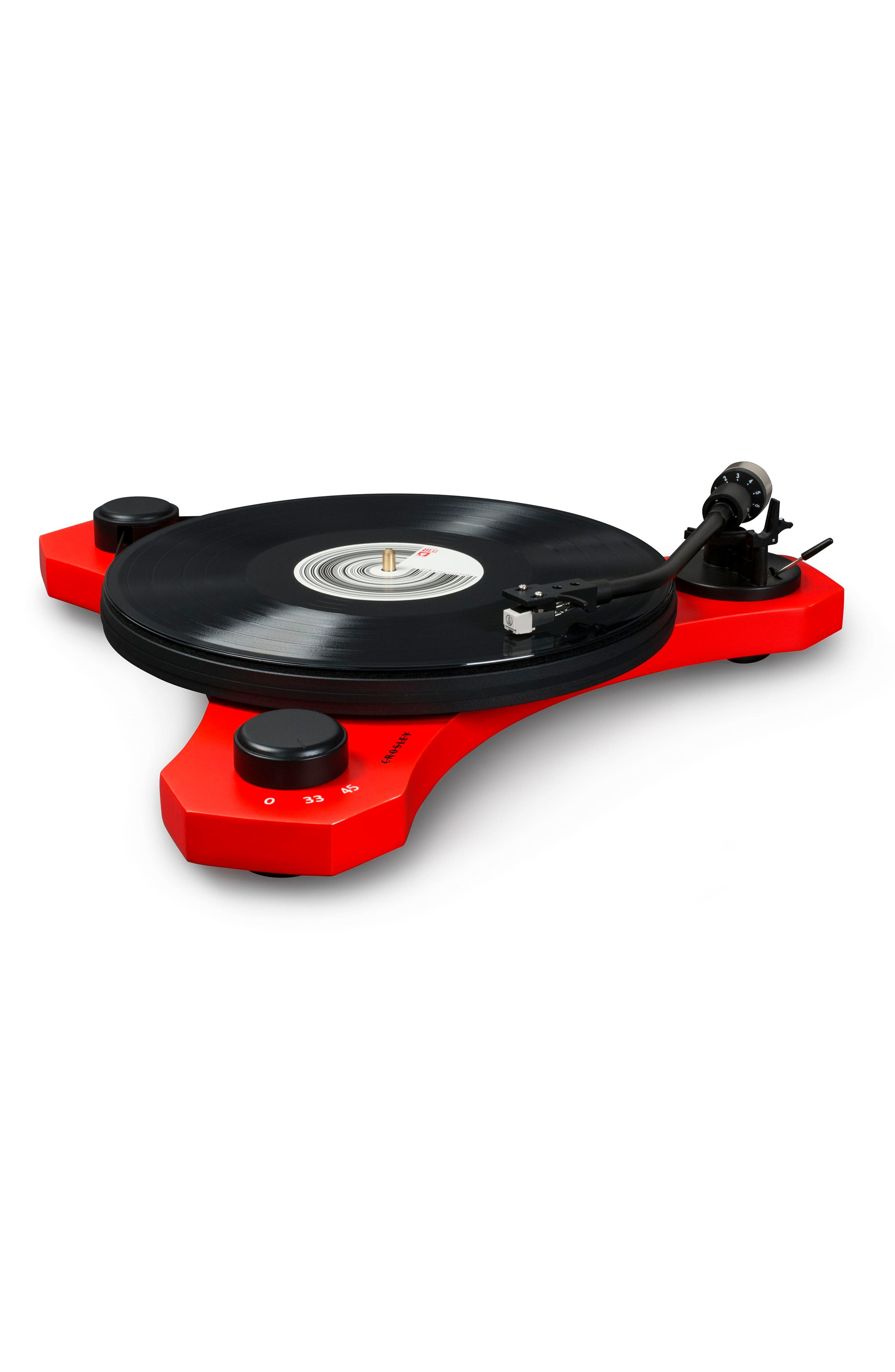 C3 Turntable,                             Alternate thumbnail 2, color,                             Red