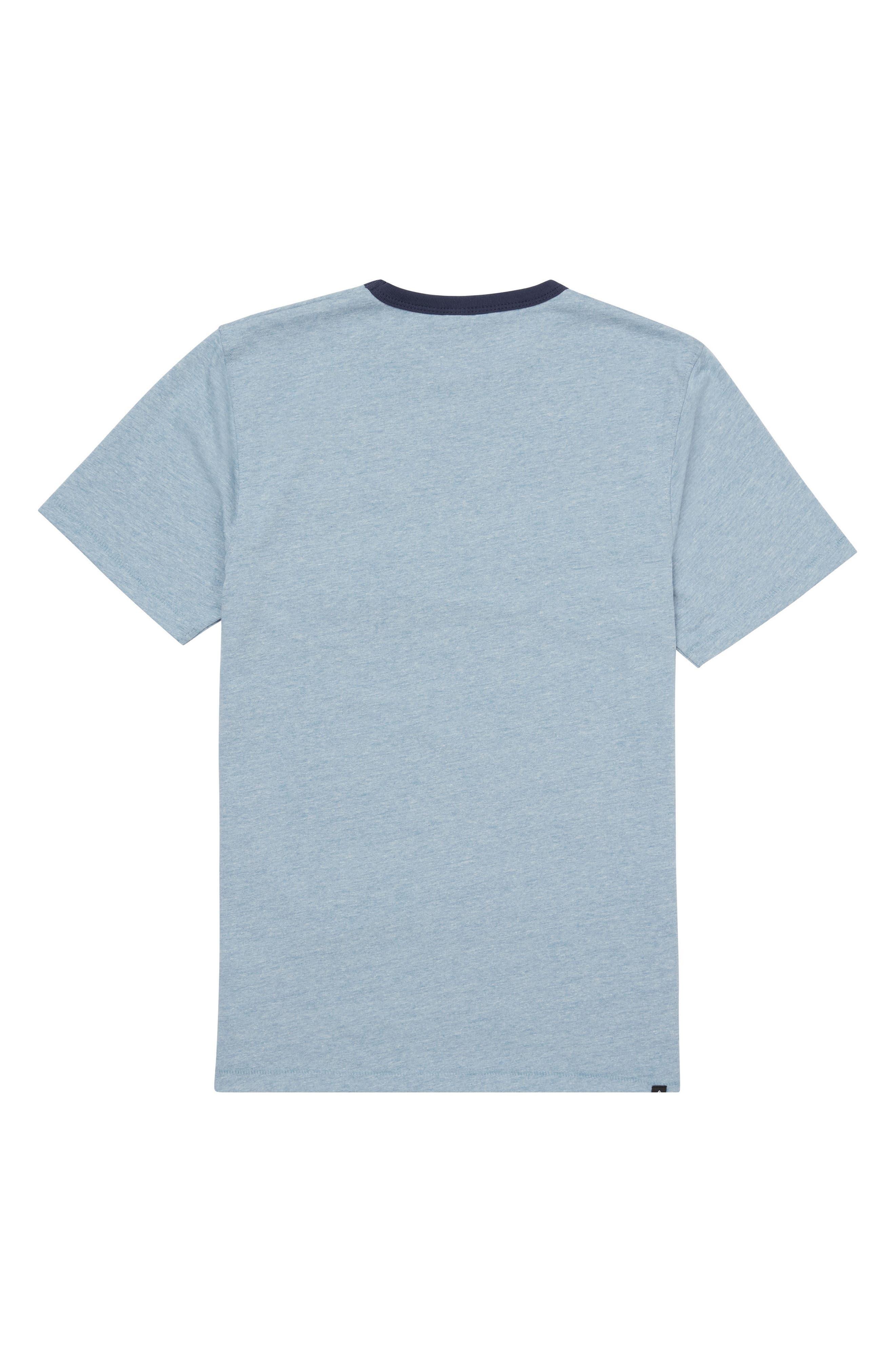 Point Place Crewneck T-Shirt,                             Alternate thumbnail 2, color,                             Indigo