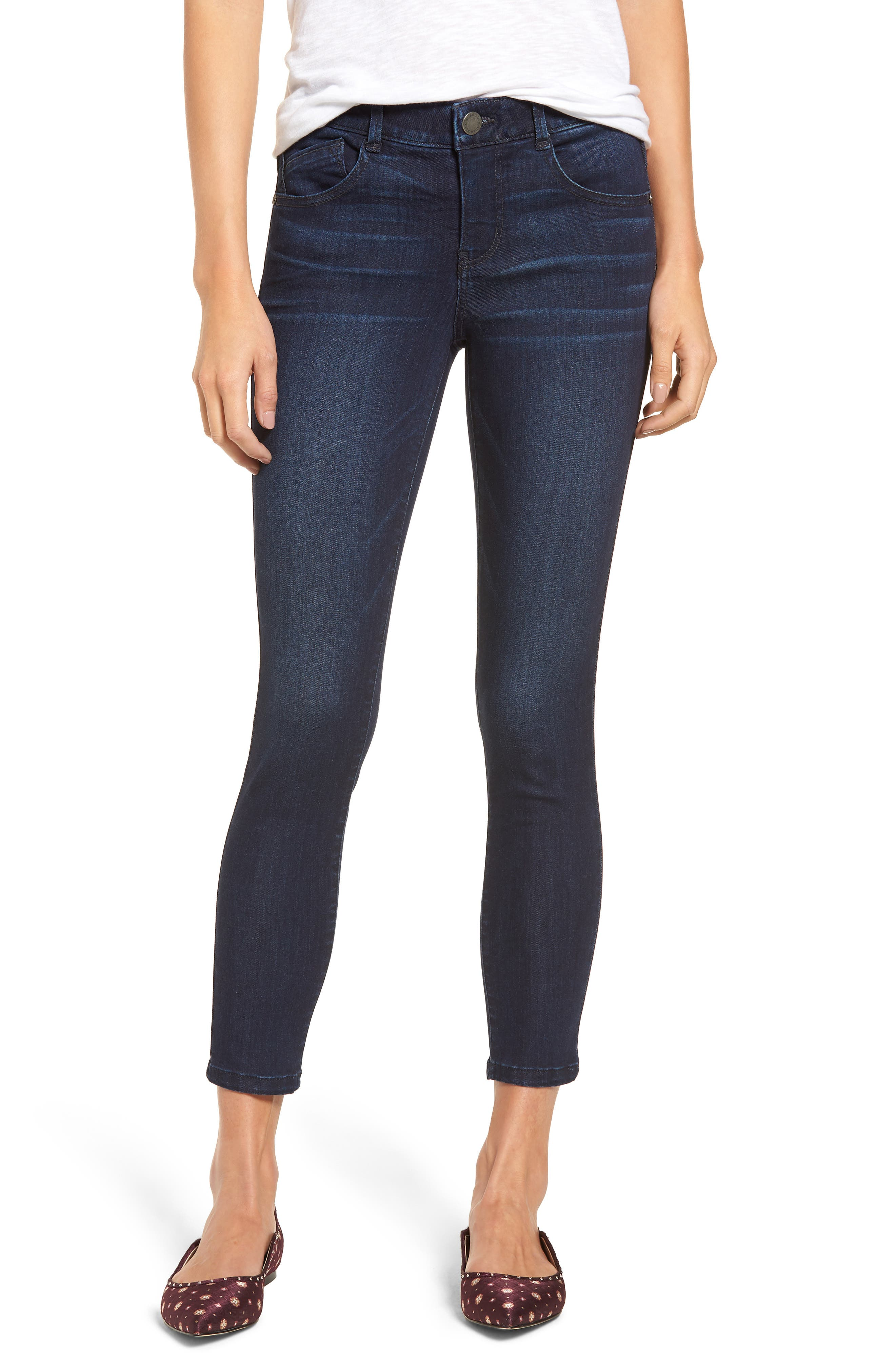 Ab-solution Skinny Jeans,                         Main,                         color, In- Indigo