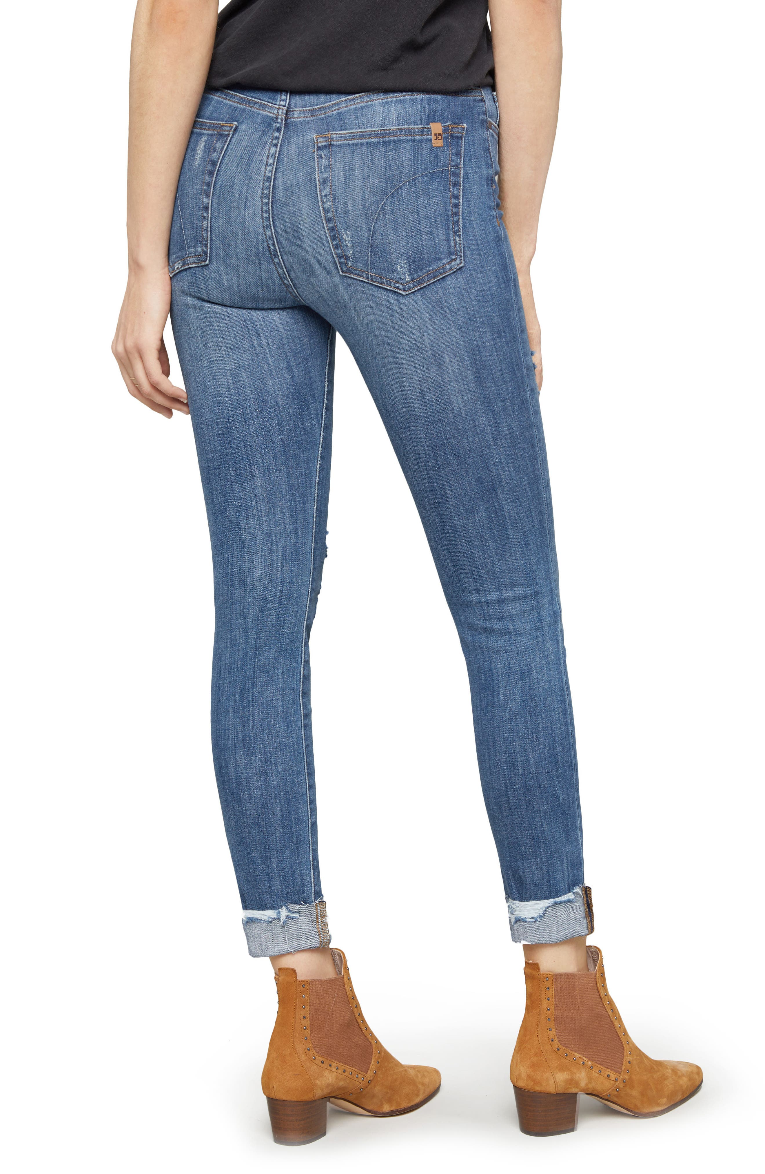 Charlie Crop Ripped Skinny Jeans,                             Alternate thumbnail 2, color,                             Leor