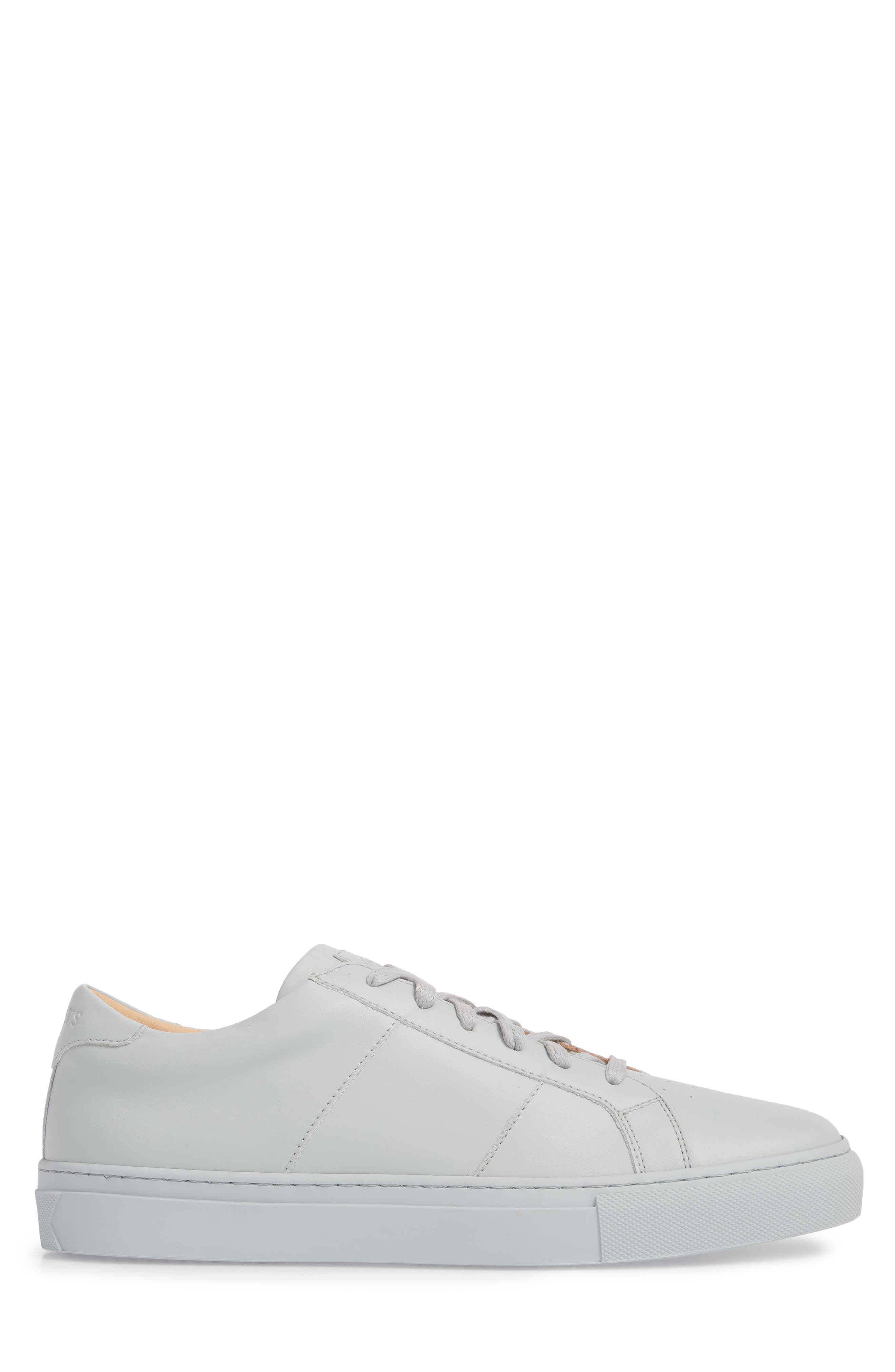 Royale Sneaker,                             Alternate thumbnail 3, color,                             Grey Tonal Leather