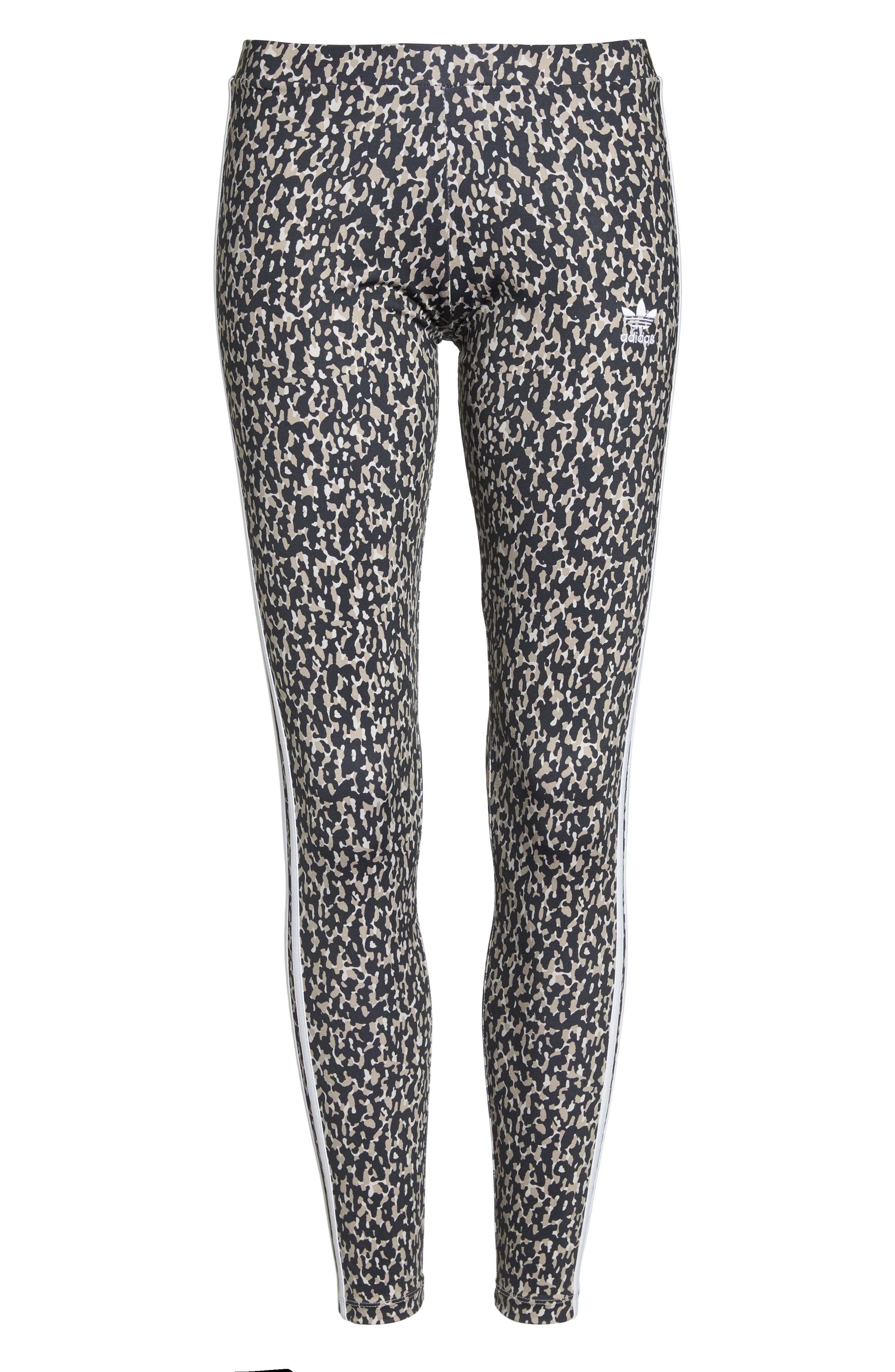 Leopard Camo Leggings,                             Alternate thumbnail 6, color,                             Leoflage Aop