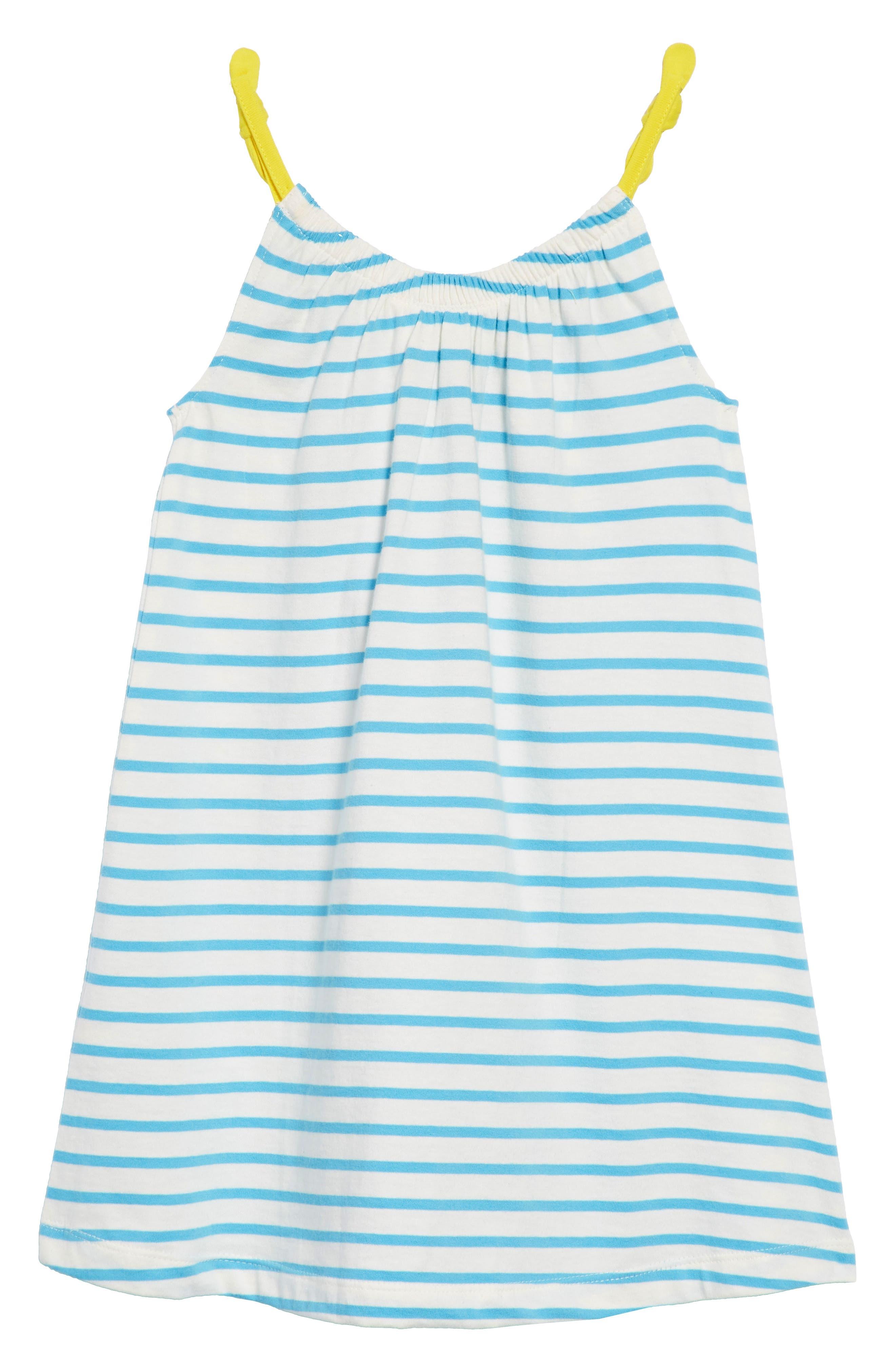 Jersey Sequin Sundress,                             Alternate thumbnail 2, color,                             Ivory/ Penzance Blue Nav