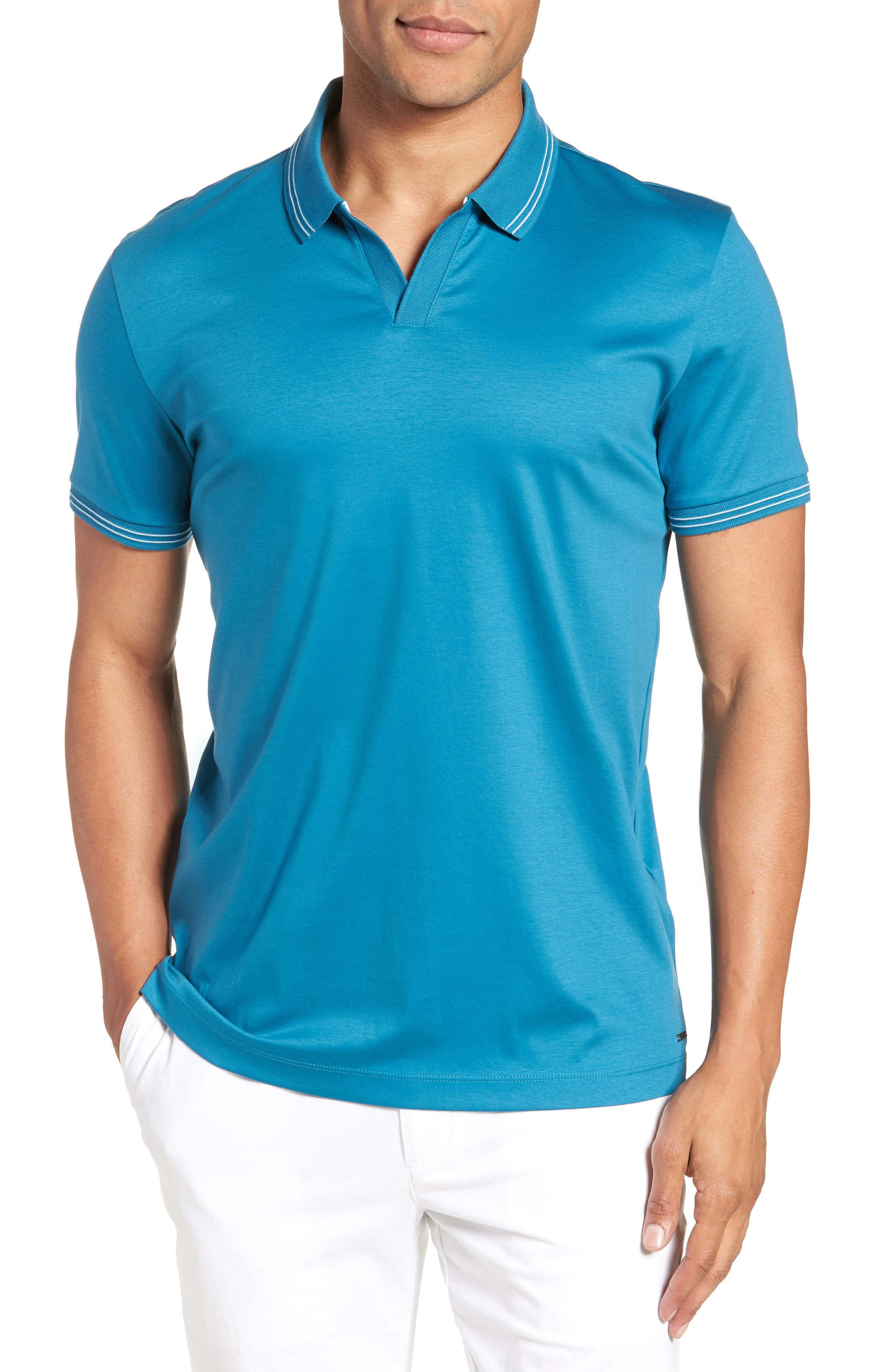 Sale Ebay Sneakernews Cheap Price BOSS Parlay Johnny Polo Shirt Reliable Sale Online 7FfuS6YW4A
