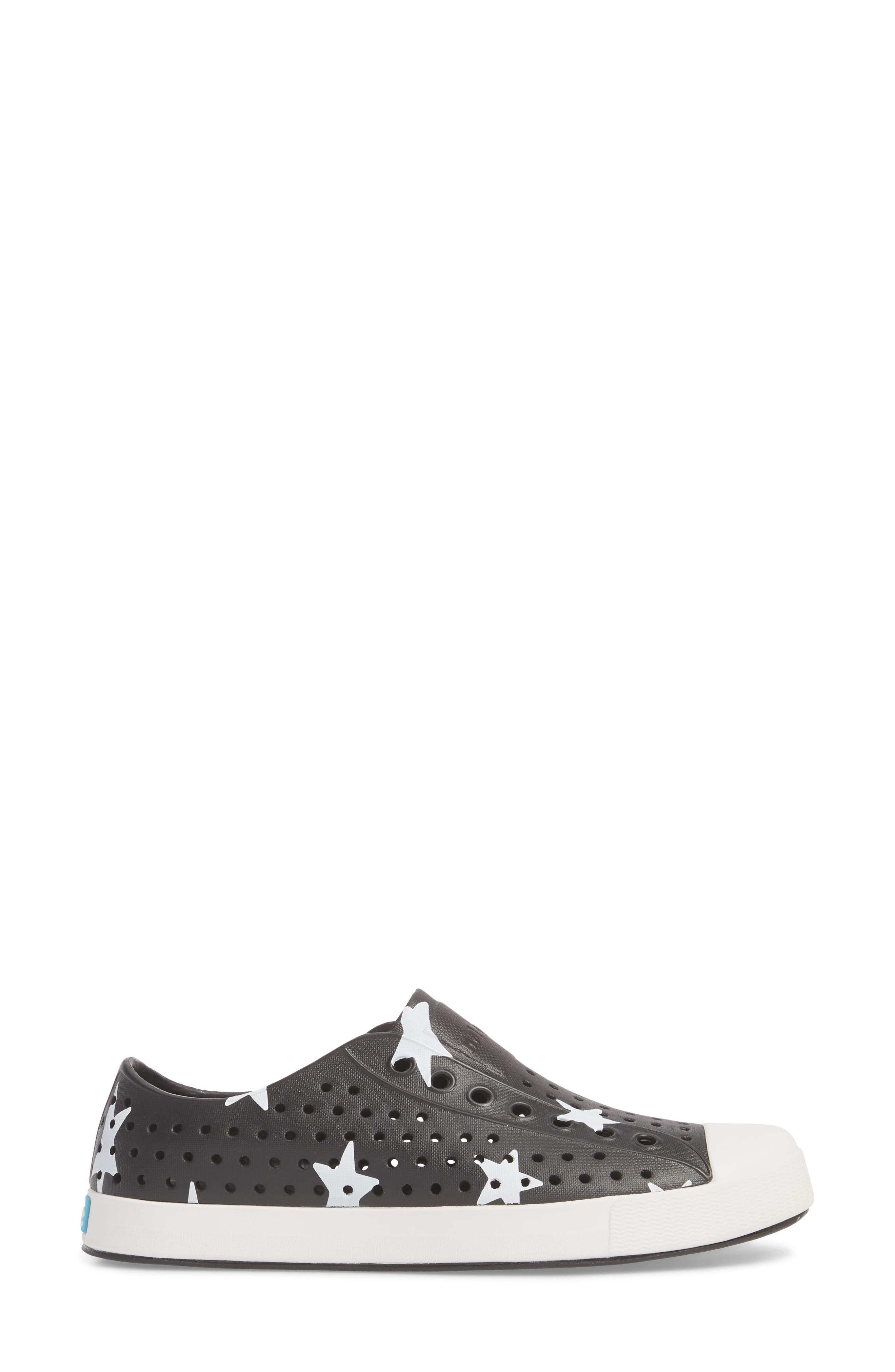 'Jefferson' Printed Slip-On Sneaker,                             Alternate thumbnail 3, color,                             Jiffy Black/ White/ Big Star