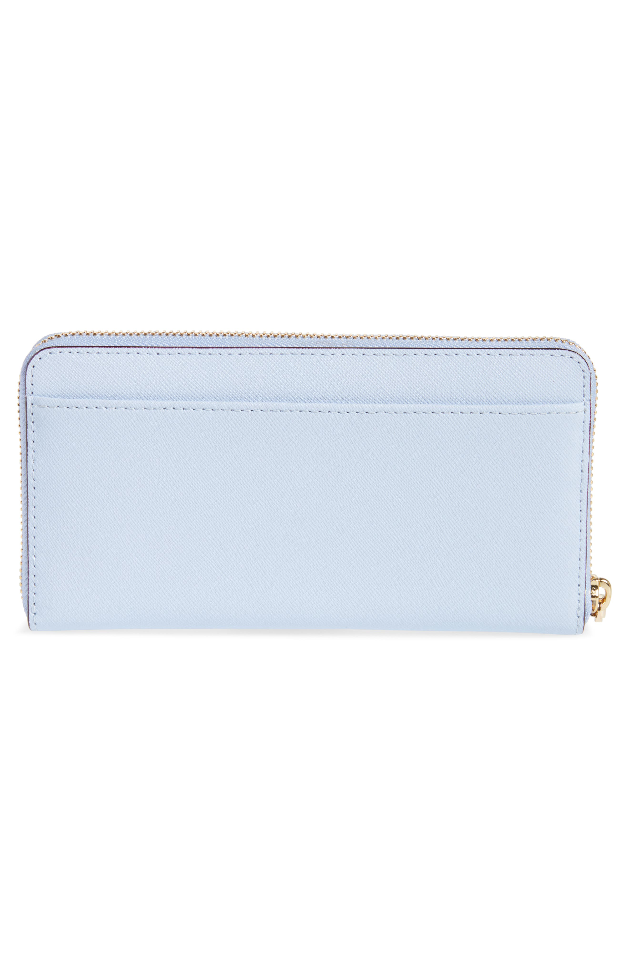 'cameron street - lacey' leather wallet,                             Alternate thumbnail 4, color,                             Morning Dawn