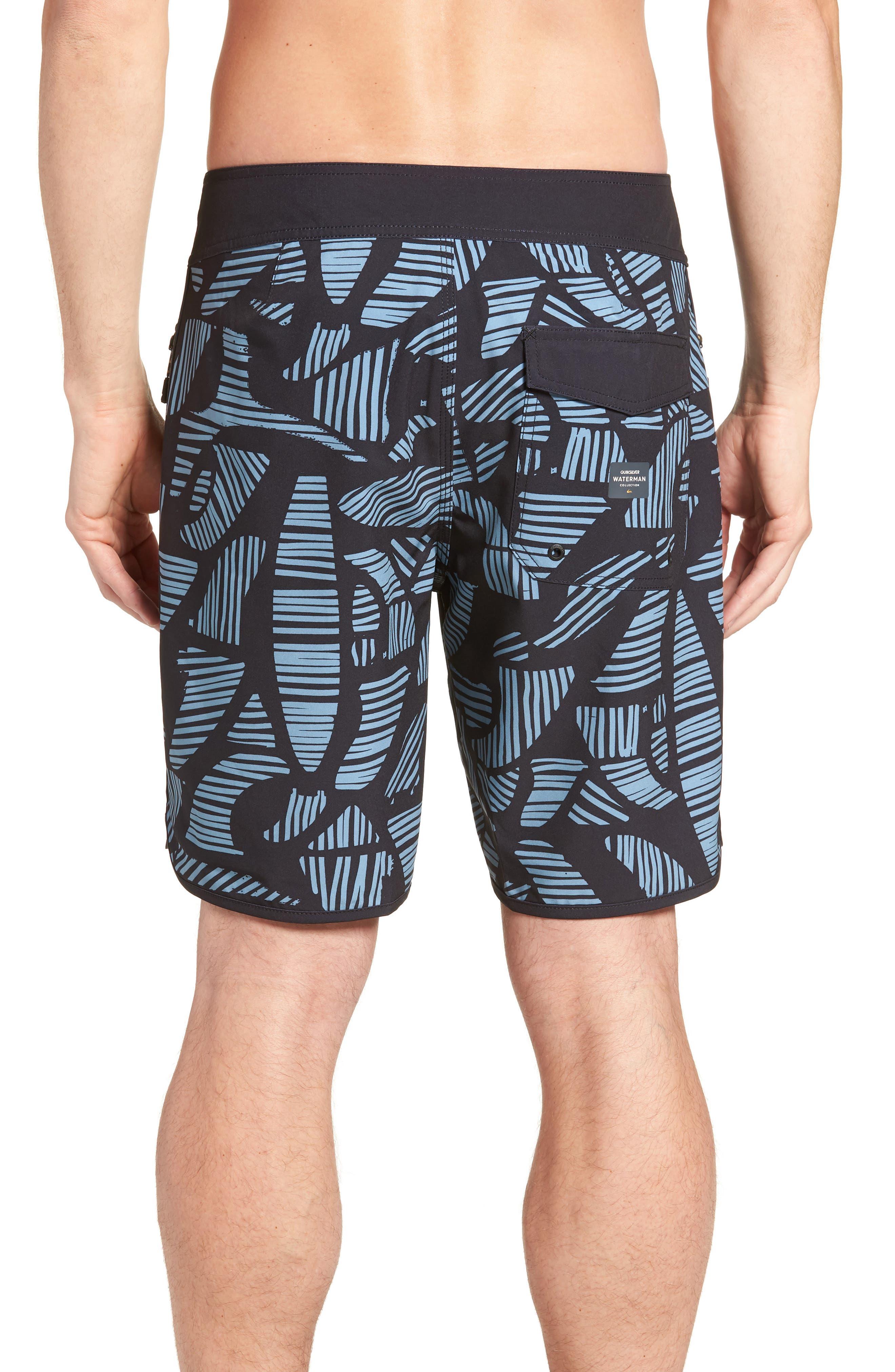 Odysea Board Shorts,                             Alternate thumbnail 2, color,                             Black