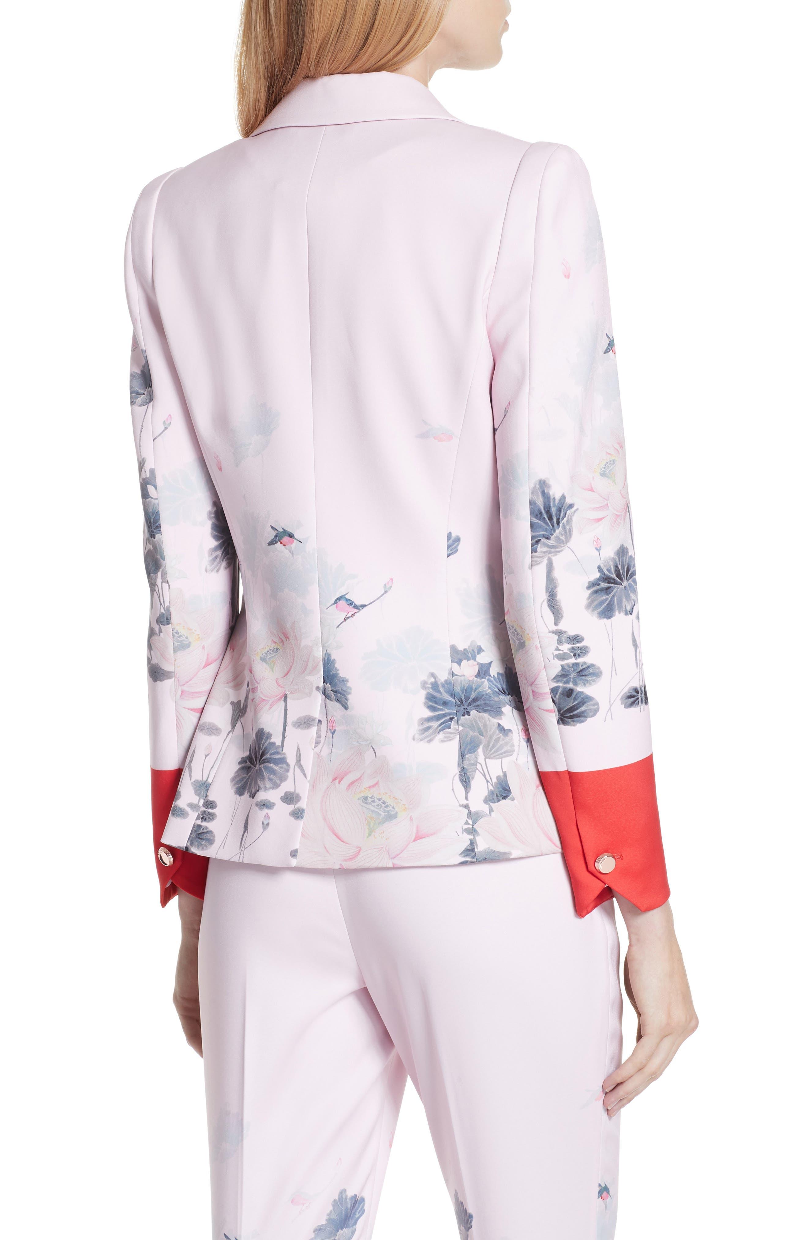 Naimh Lake of Dreams Tailored Jacket,                             Alternate thumbnail 2, color,                             Pink