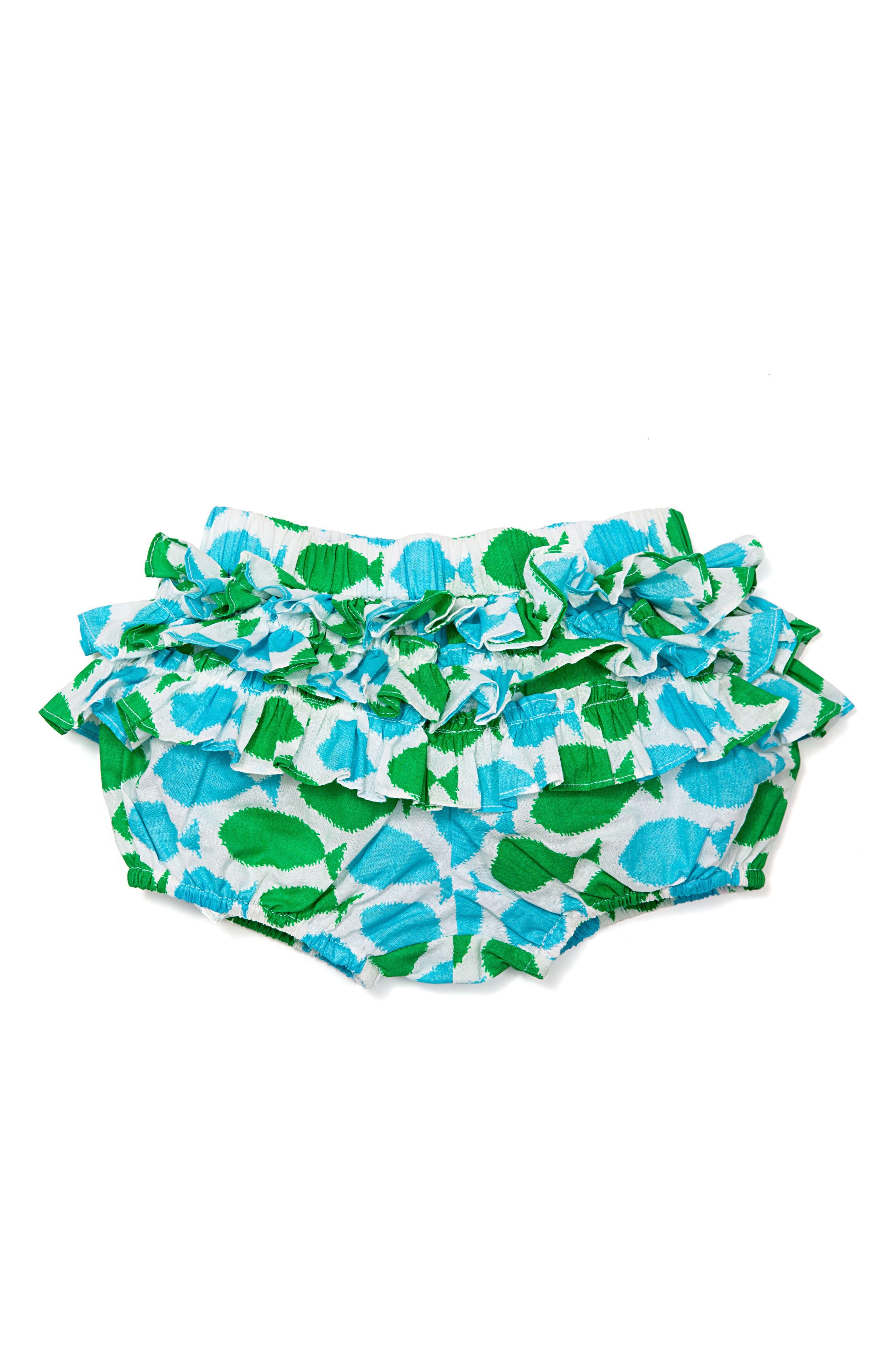 Masala Baby Joli Fish Ruffle Bloomers (Baby Girls)