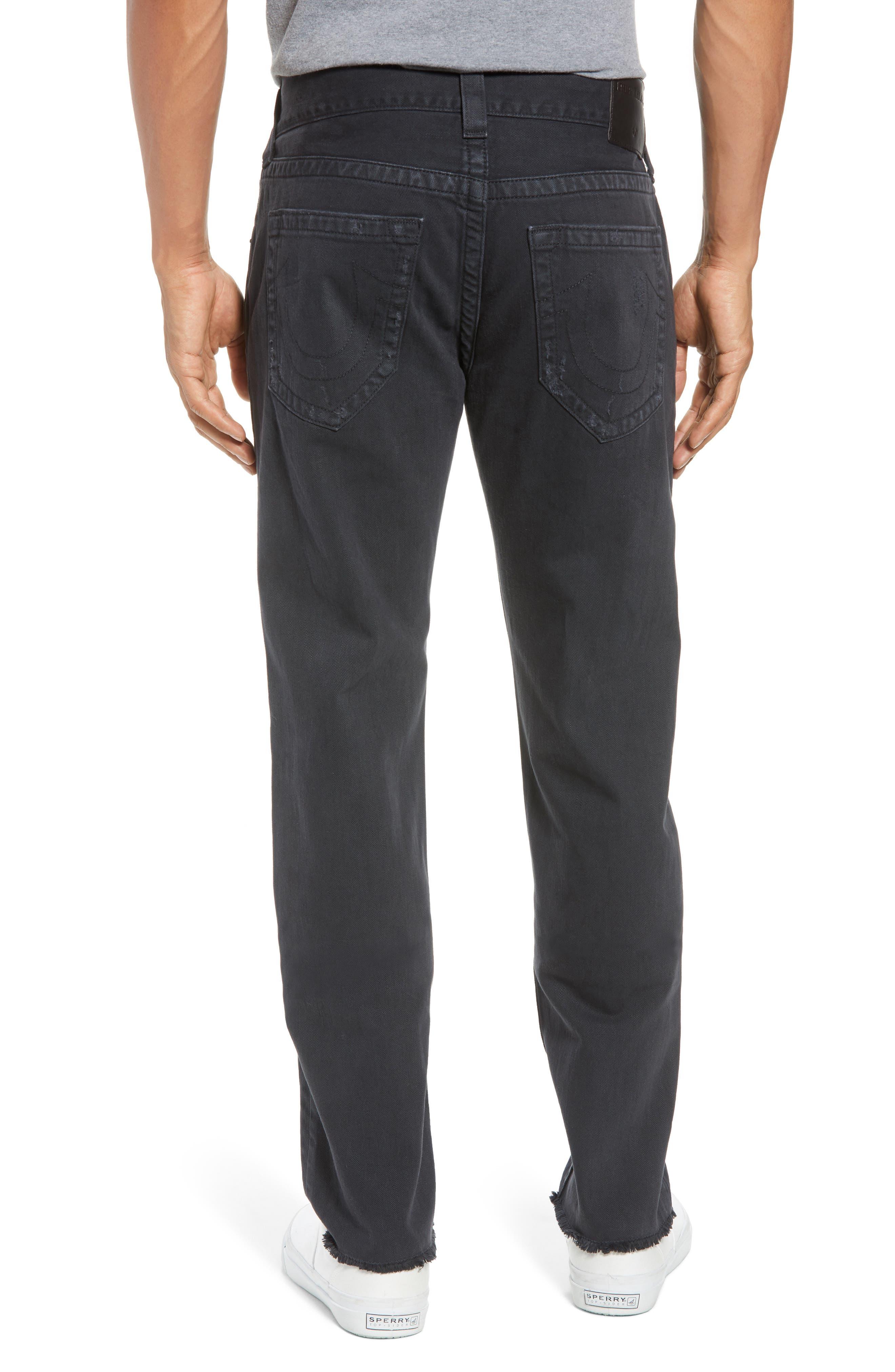 Rocco Skinny Fit Jeans,                             Alternate thumbnail 2, color,                             Black Volcanic Ash