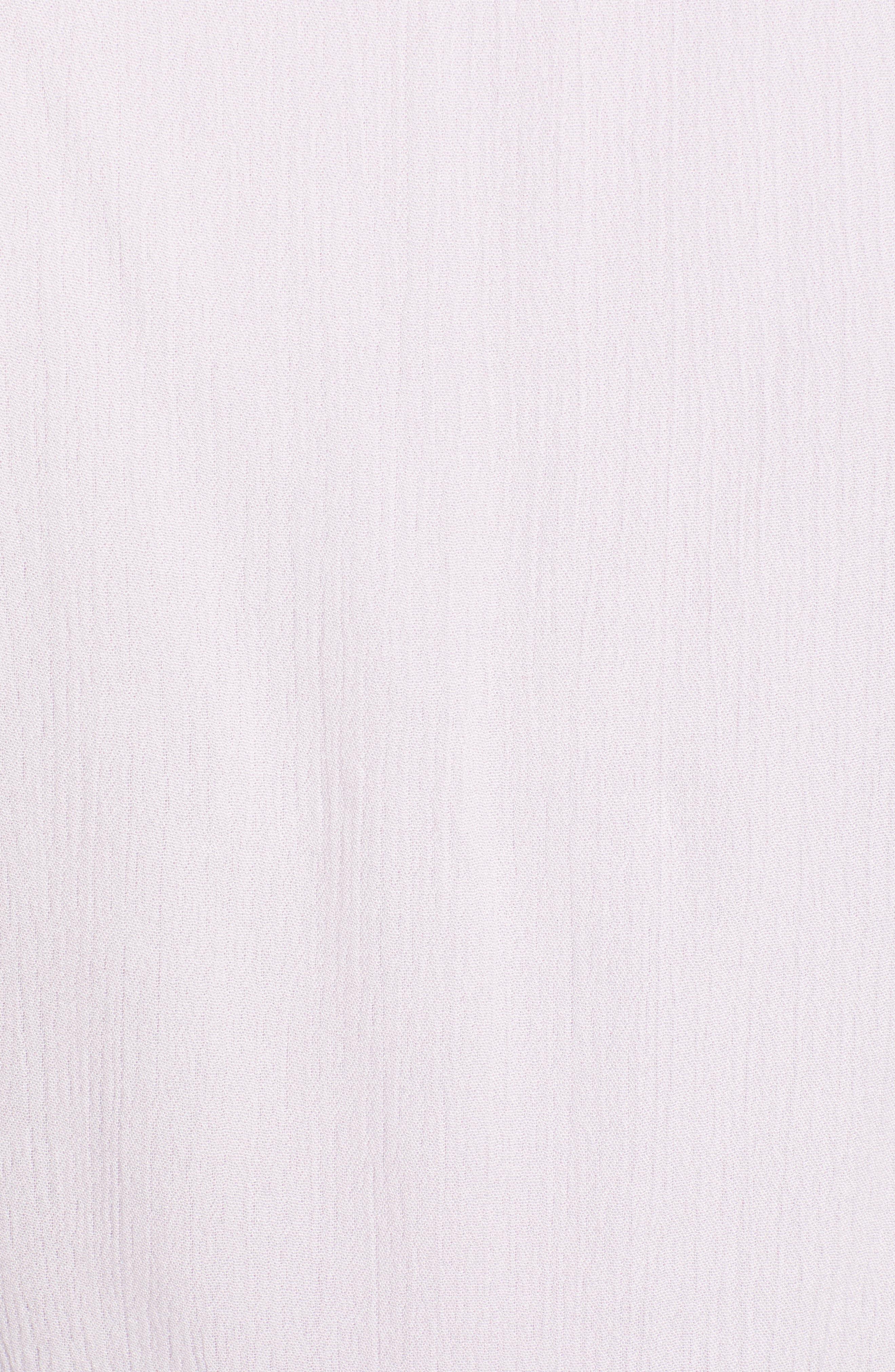Sleeveless Blouson Midi Dress,                             Alternate thumbnail 6, color,                             Purple Moss