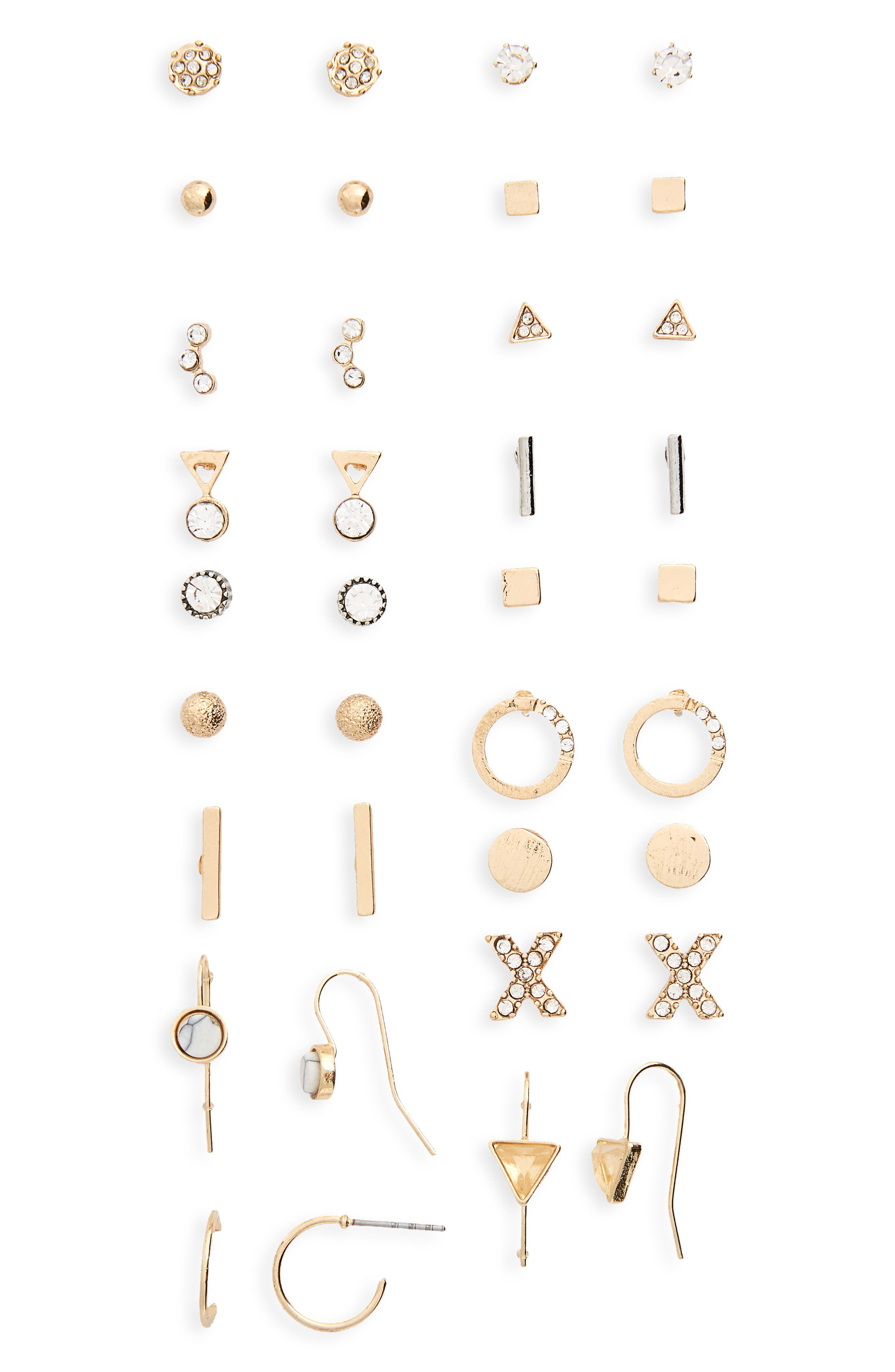 BP. 18-Pack Earrings