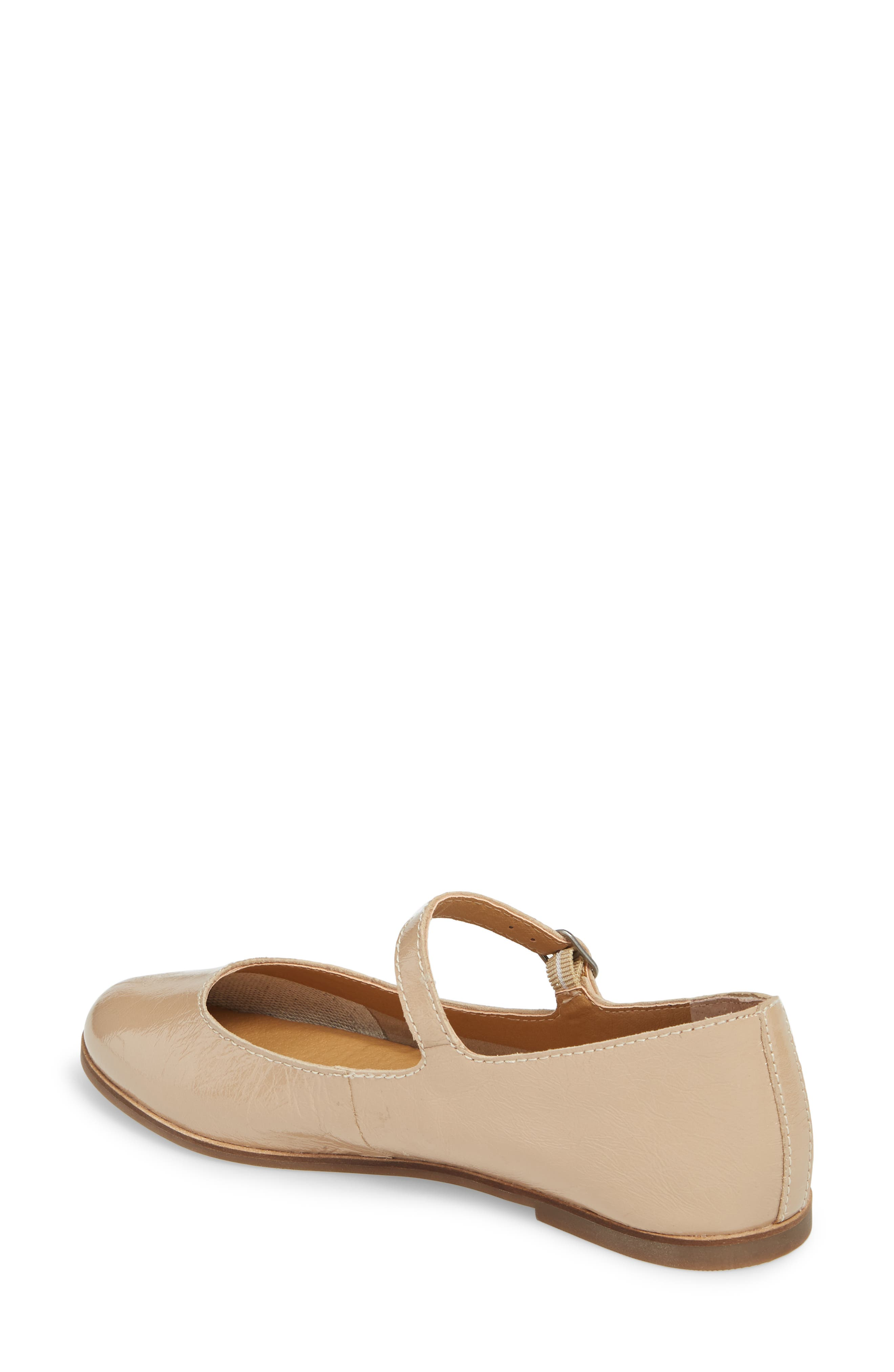 Ceentana Mary Jane Flat,                             Alternate thumbnail 2, color,                             Feather Leather