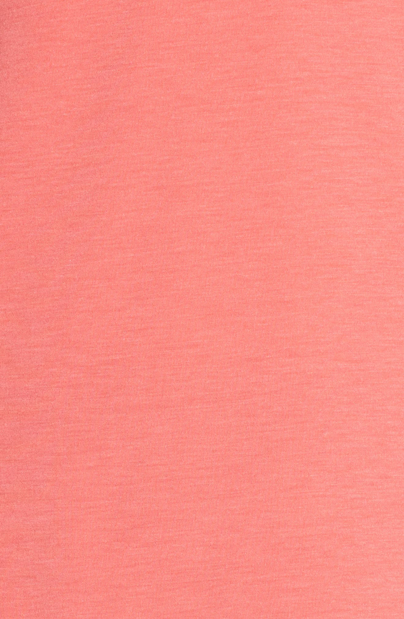Ava Tee,                             Alternate thumbnail 6, color,                             Coral Calypso