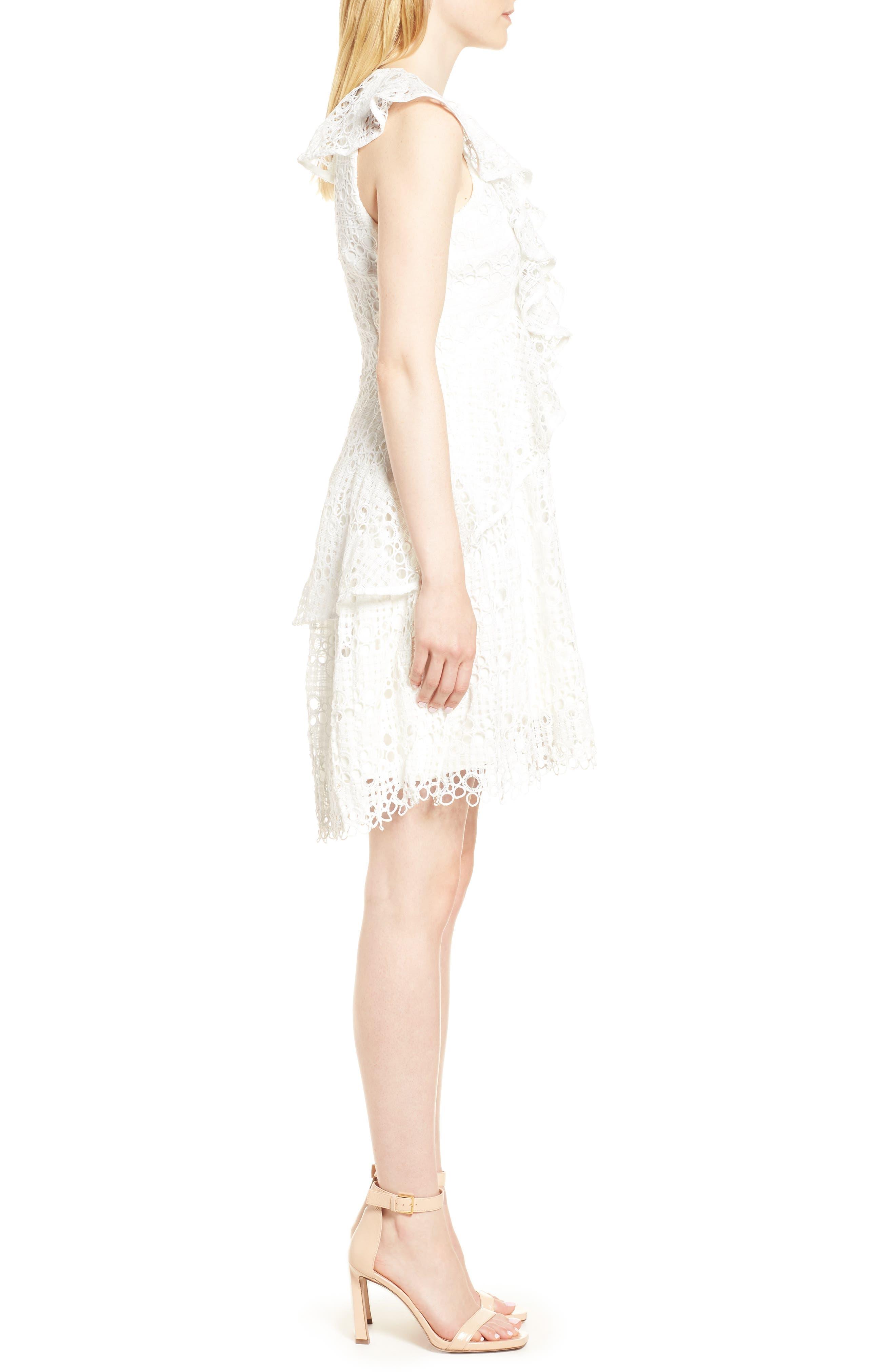Interlude Dress,                             Alternate thumbnail 3, color,                             White