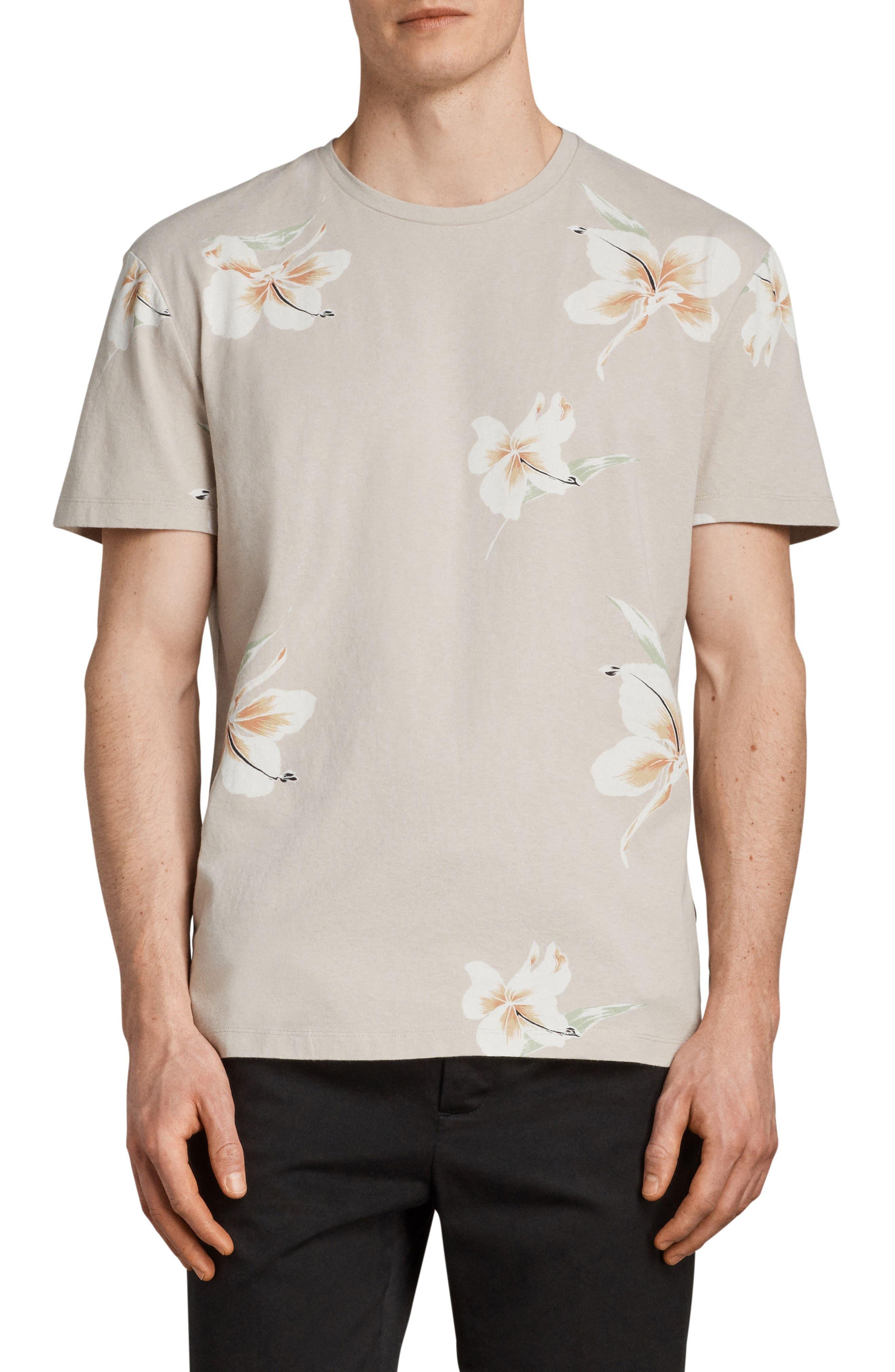 Lily Short Sleeve T-Shirt,                             Main thumbnail 1, color,                             Dark Grey