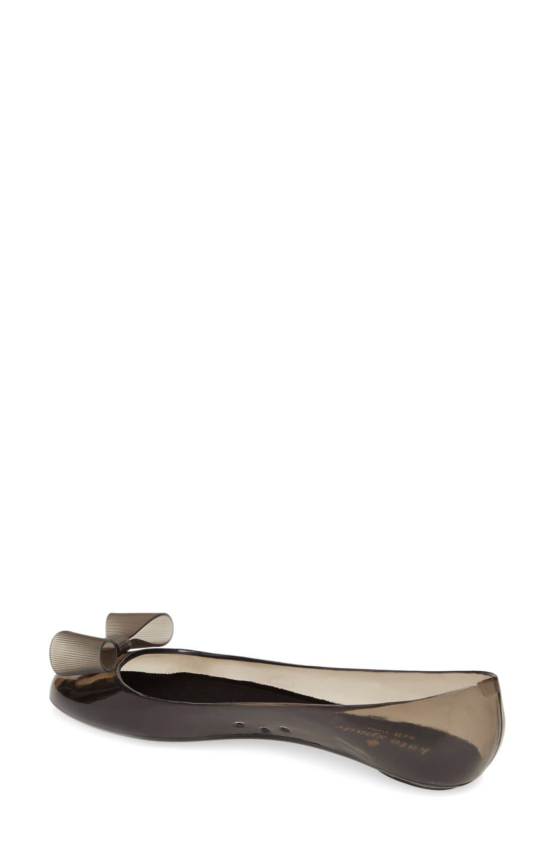 Alternate Image 2  - kate spade new york 'jove' jelly skimmer flat