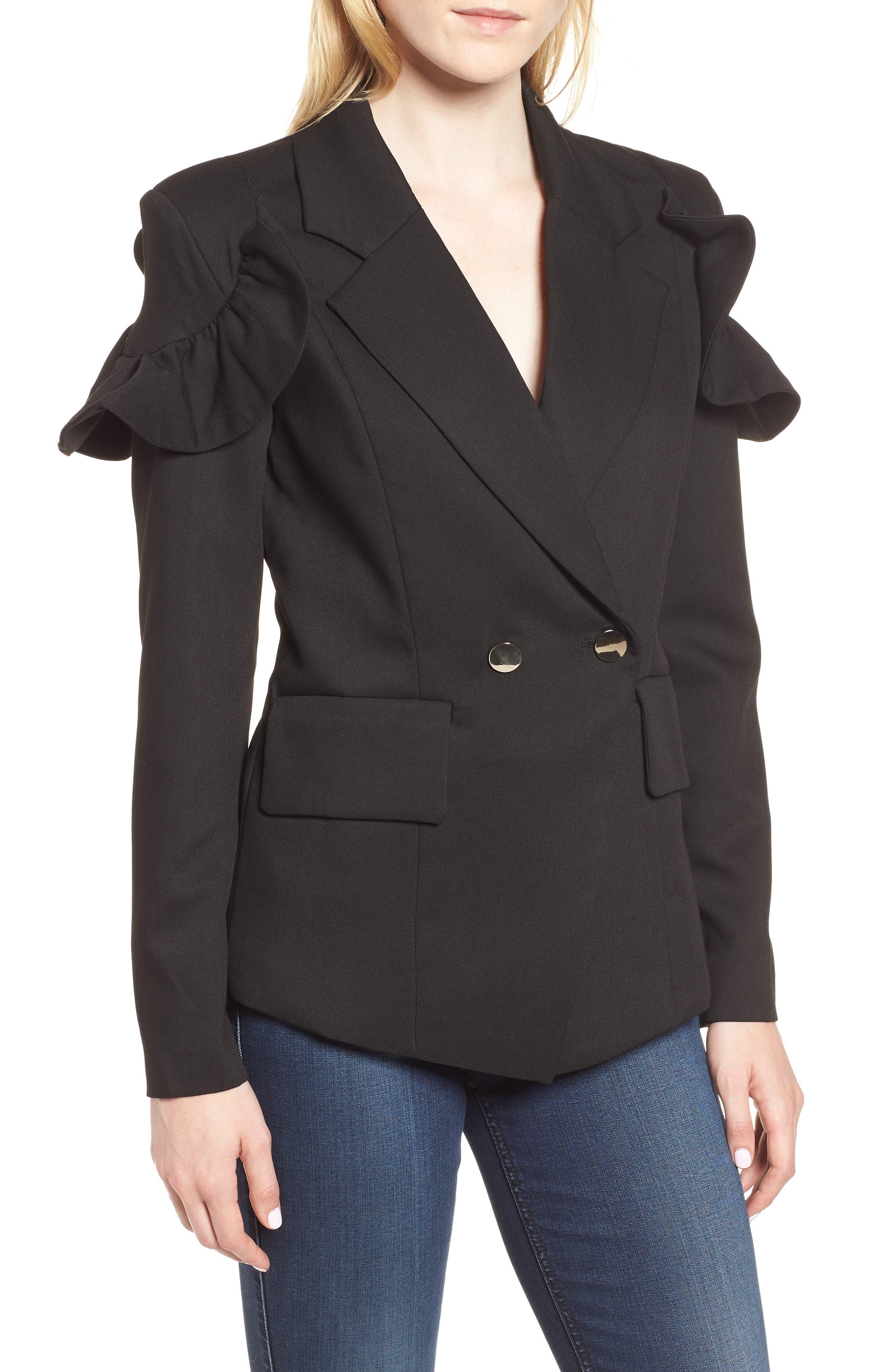 Harmony Jacket,                             Main thumbnail 1, color,                             Black