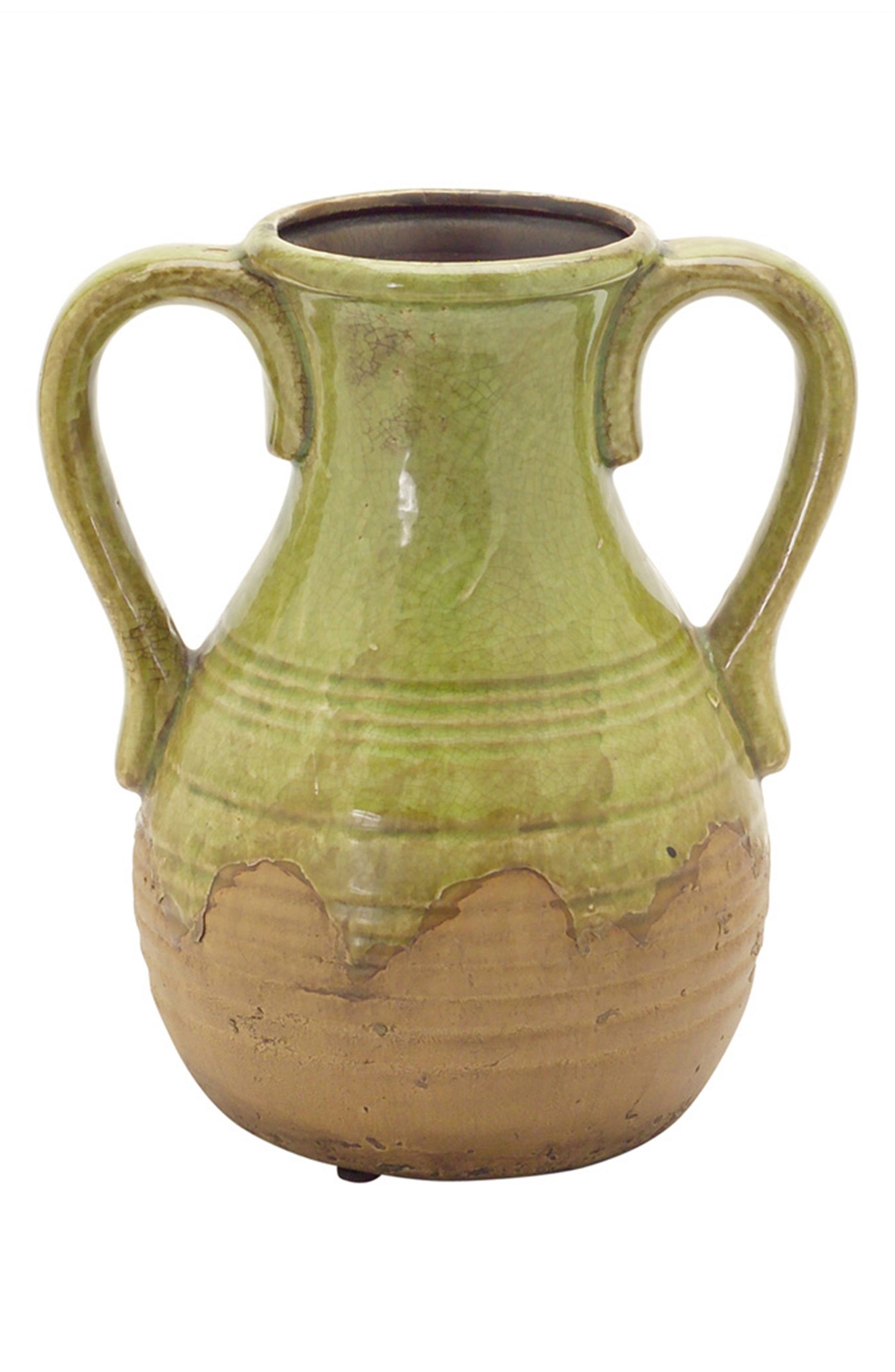 Melrose Gifts Rustic Jar with Handles