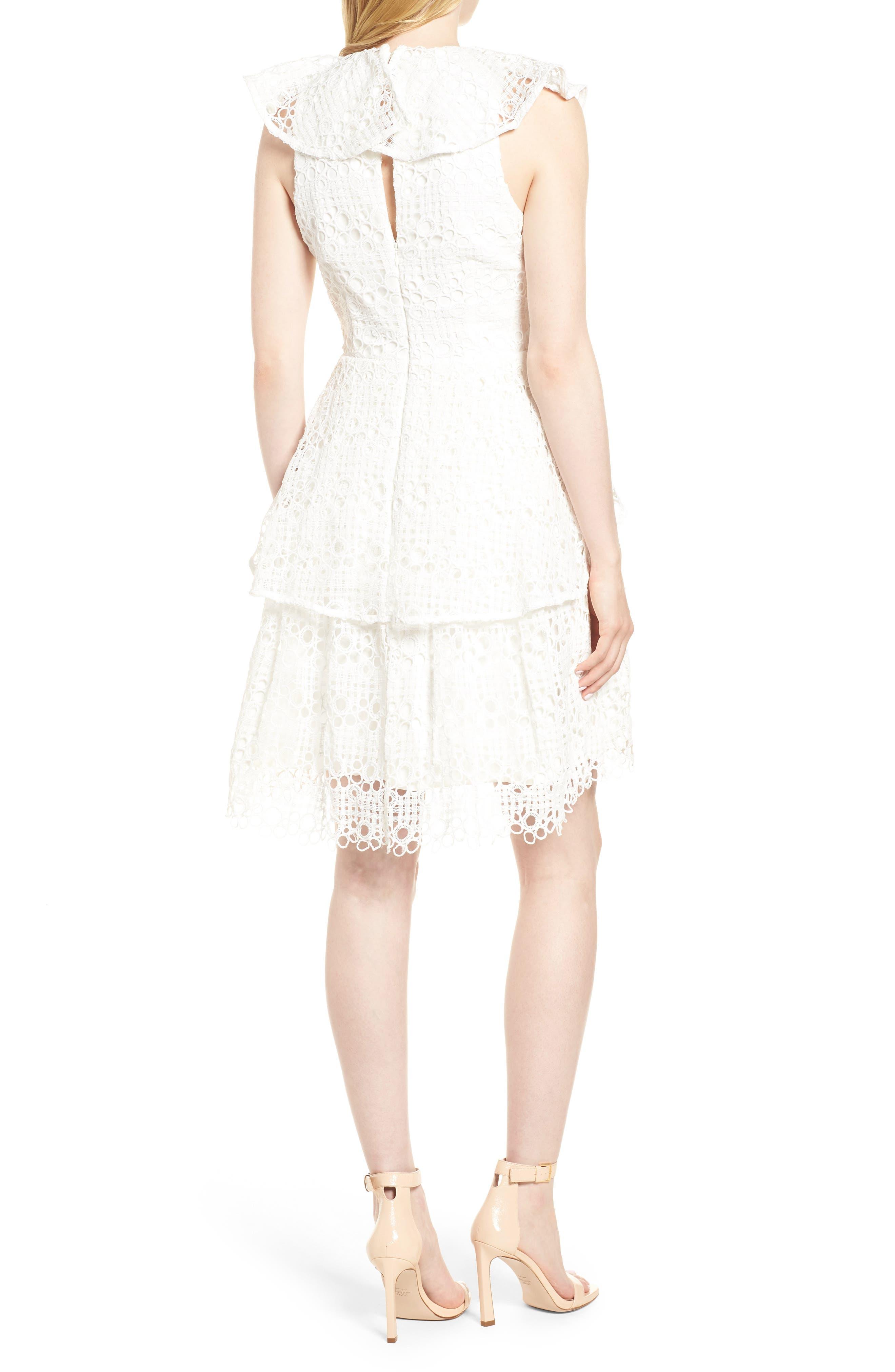 Interlude Dress,                             Alternate thumbnail 2, color,                             White