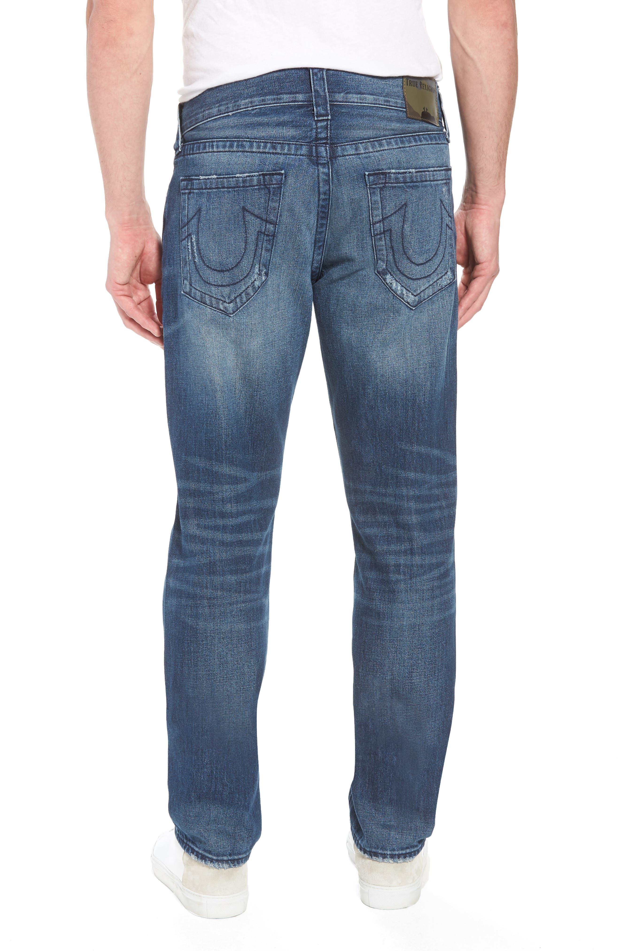 Geno Straight Leg Jeans,                             Alternate thumbnail 2, color,                             Worn Suspect