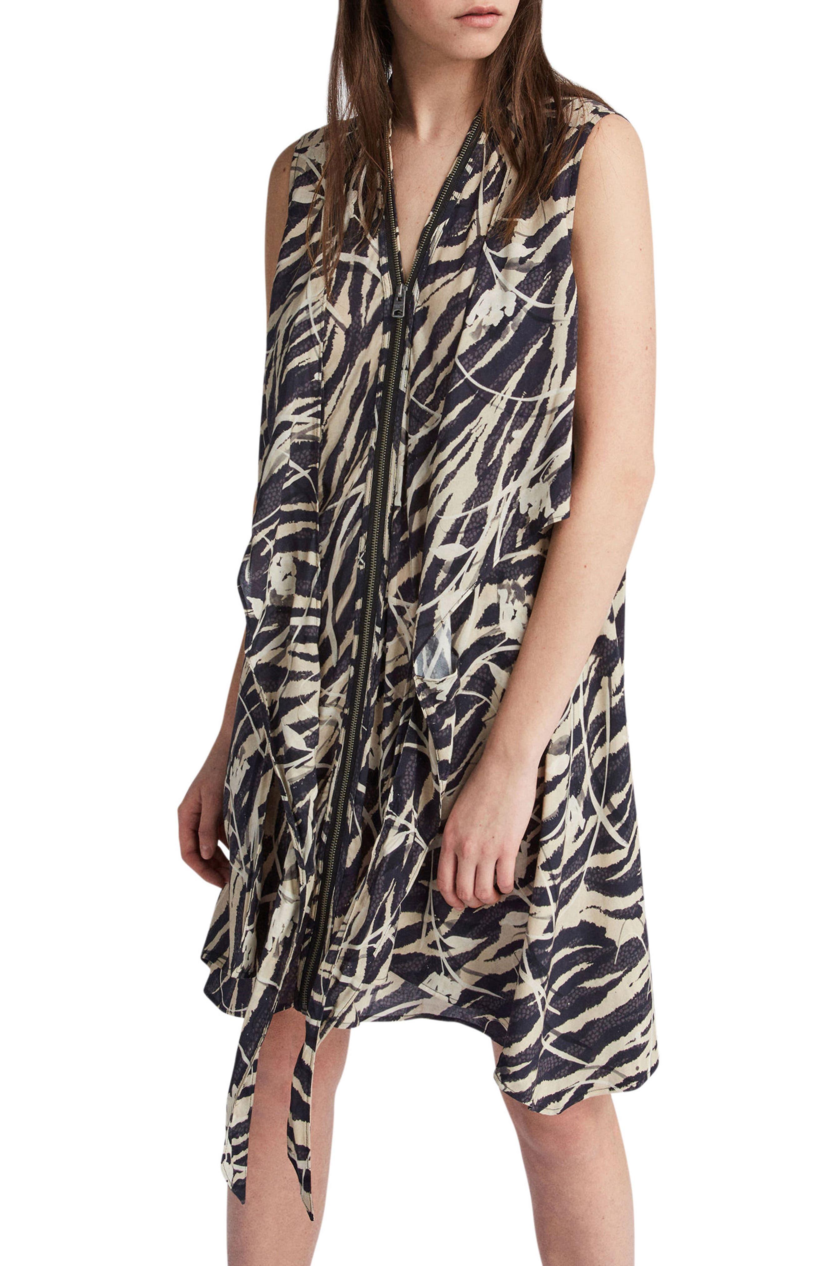 Jayda Katoi Dress,                             Alternate thumbnail 2, color,                             Coal Black