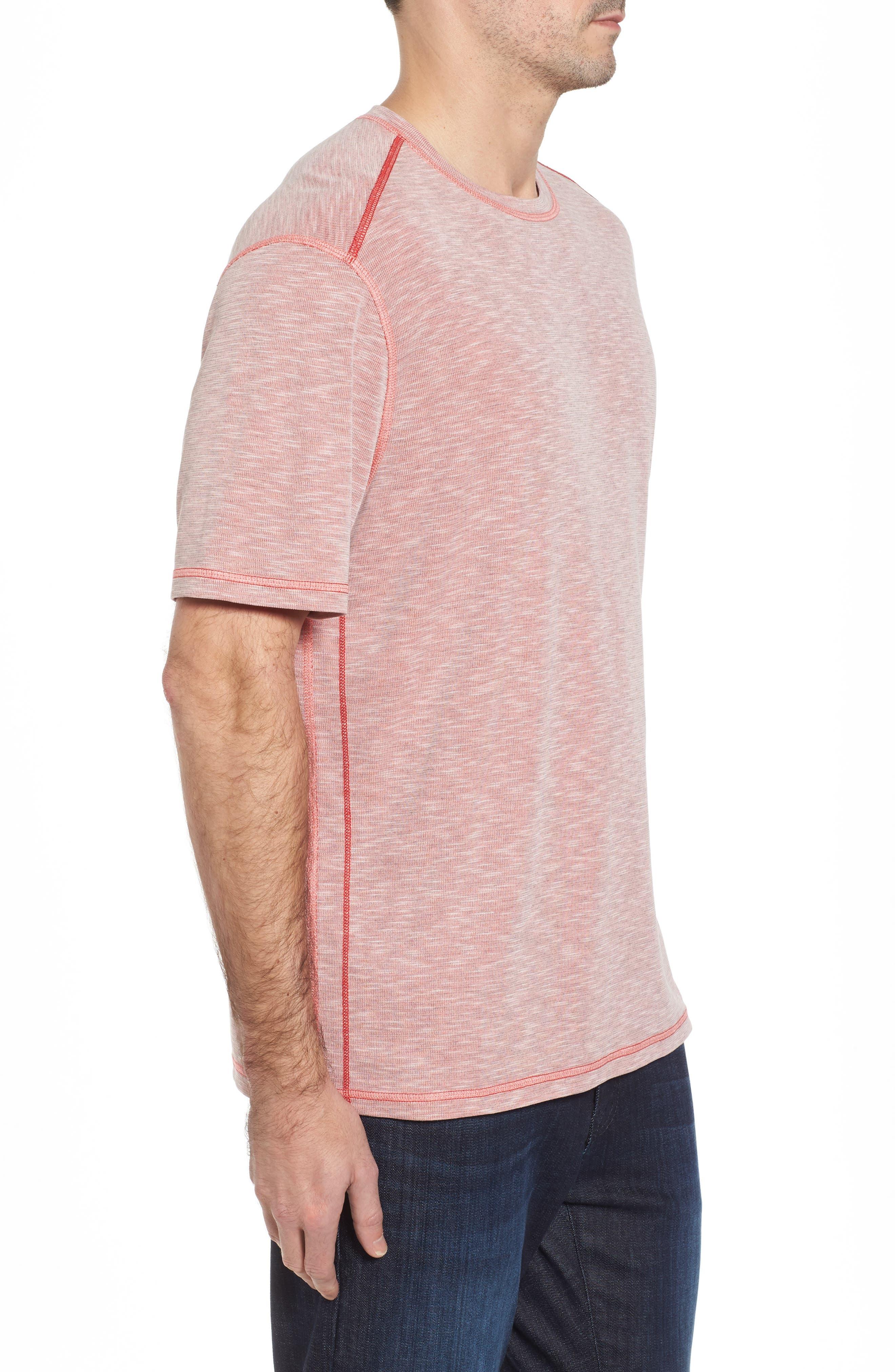 Flip Tide T-Shirt,                             Alternate thumbnail 3, color,                             Red Cherry