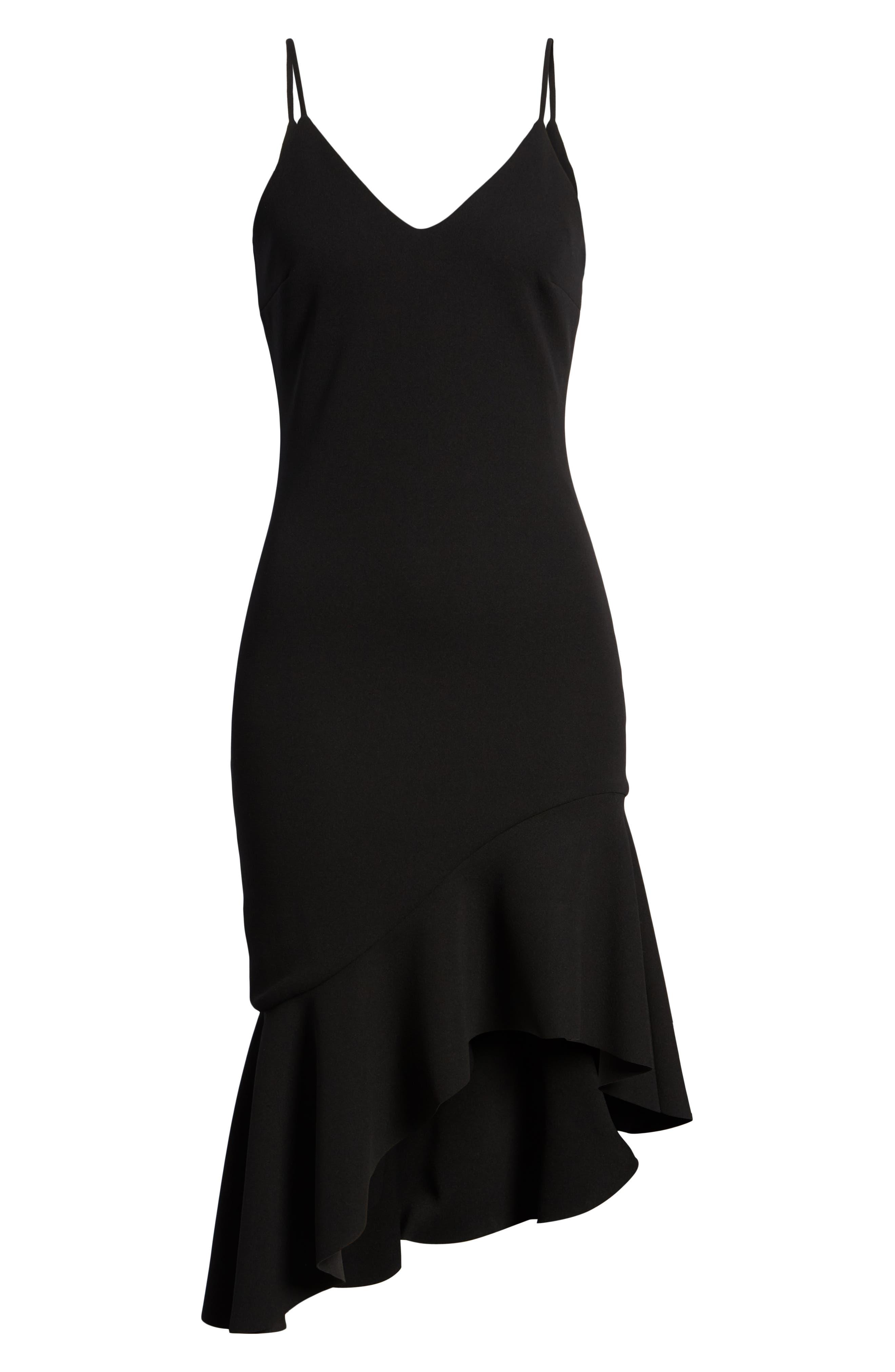 Artemis Dress,                             Alternate thumbnail 6, color,                             Black