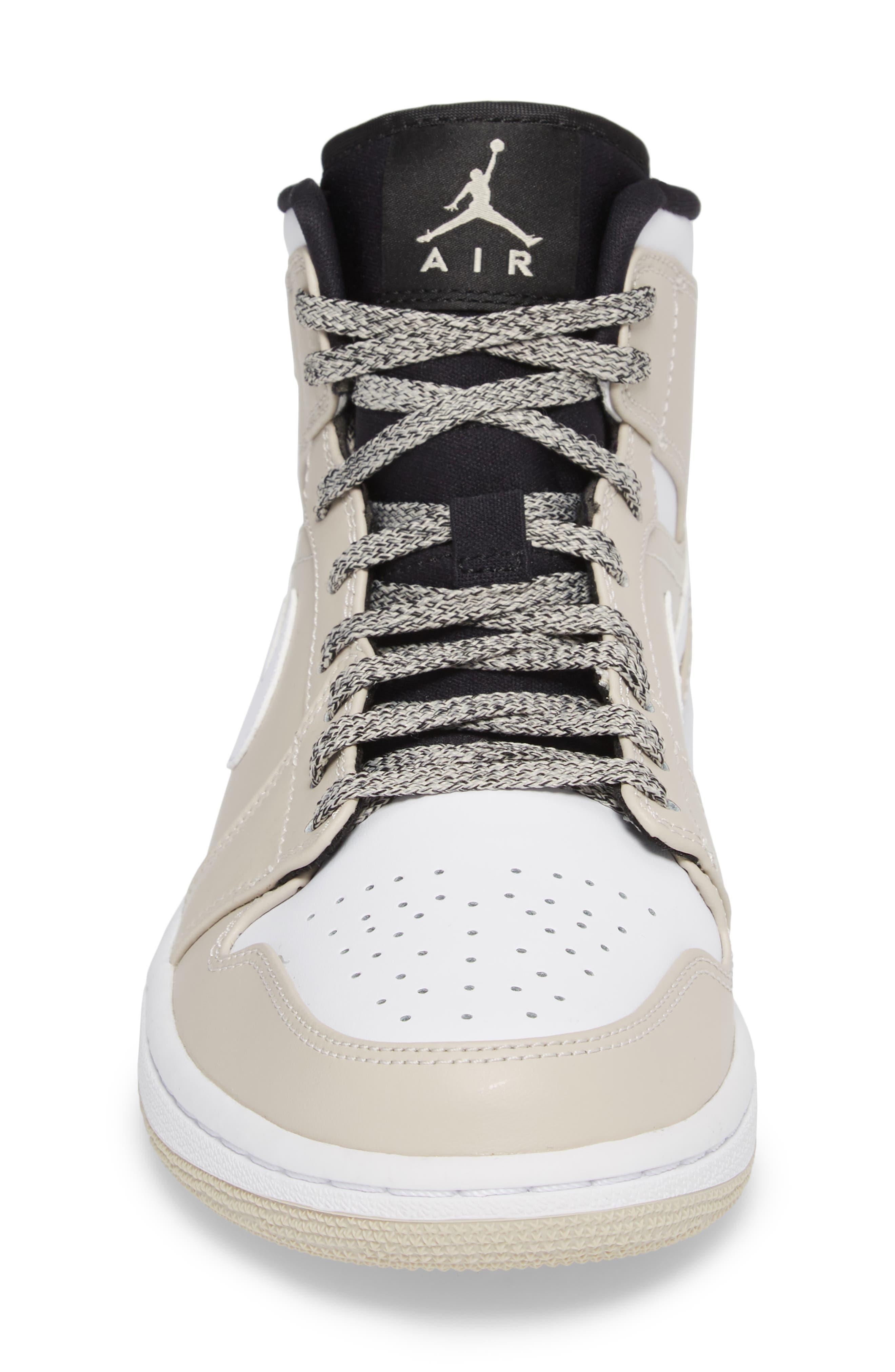 Alternate Image 4  - Nike 'Air Jordan 1 Mid' Sneaker (Men)