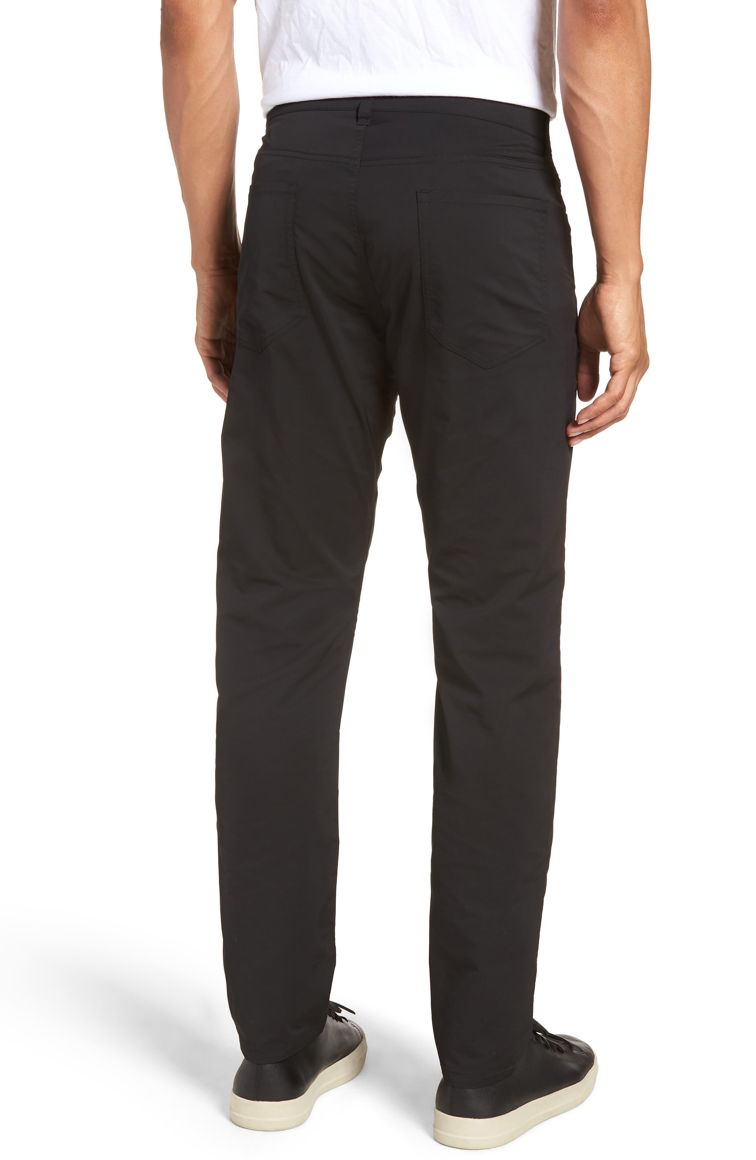 Tech Five-Pocket Pants,                             Alternate thumbnail 2, color,                             Black