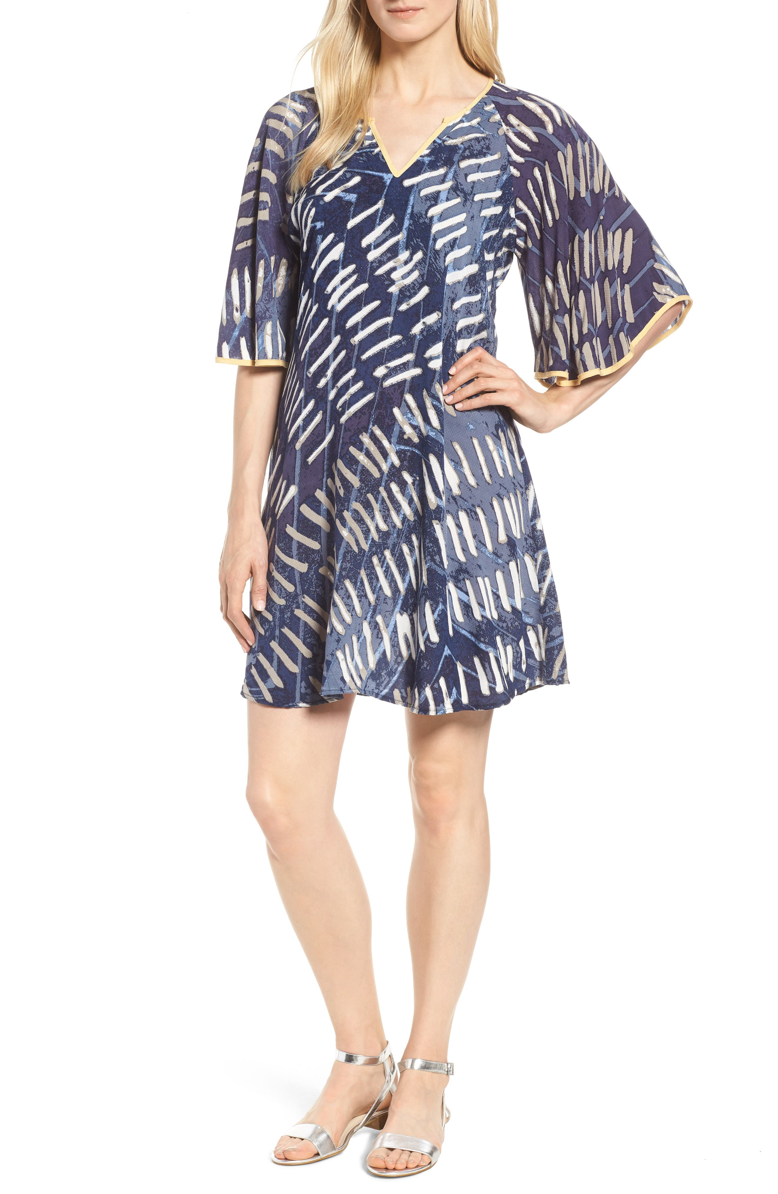 Nights In the Mojave Dress,                             Main thumbnail 1, color,                             Multi