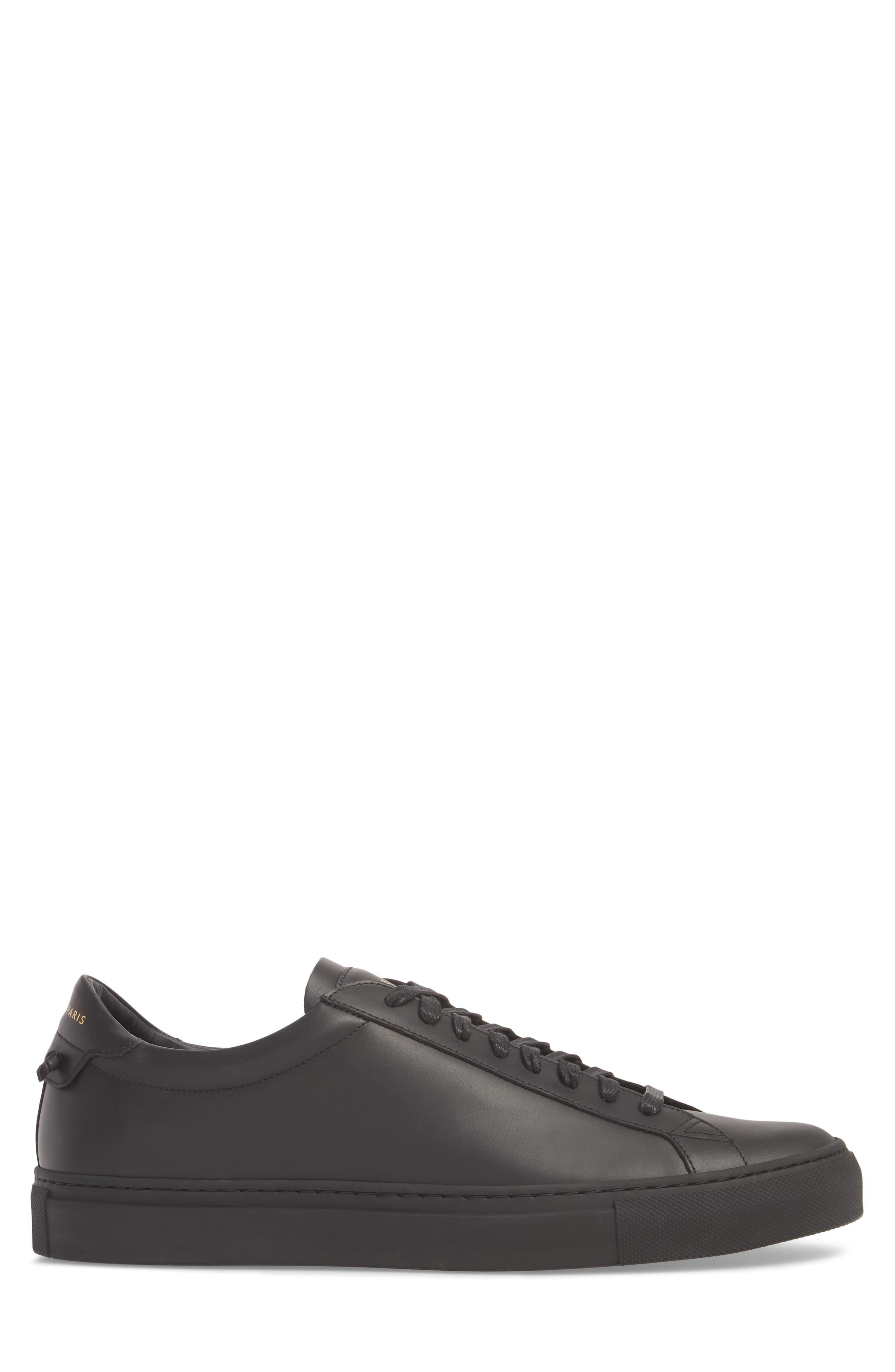 'Urban Knots Lo' Sneaker,                             Alternate thumbnail 3, color,                             Black