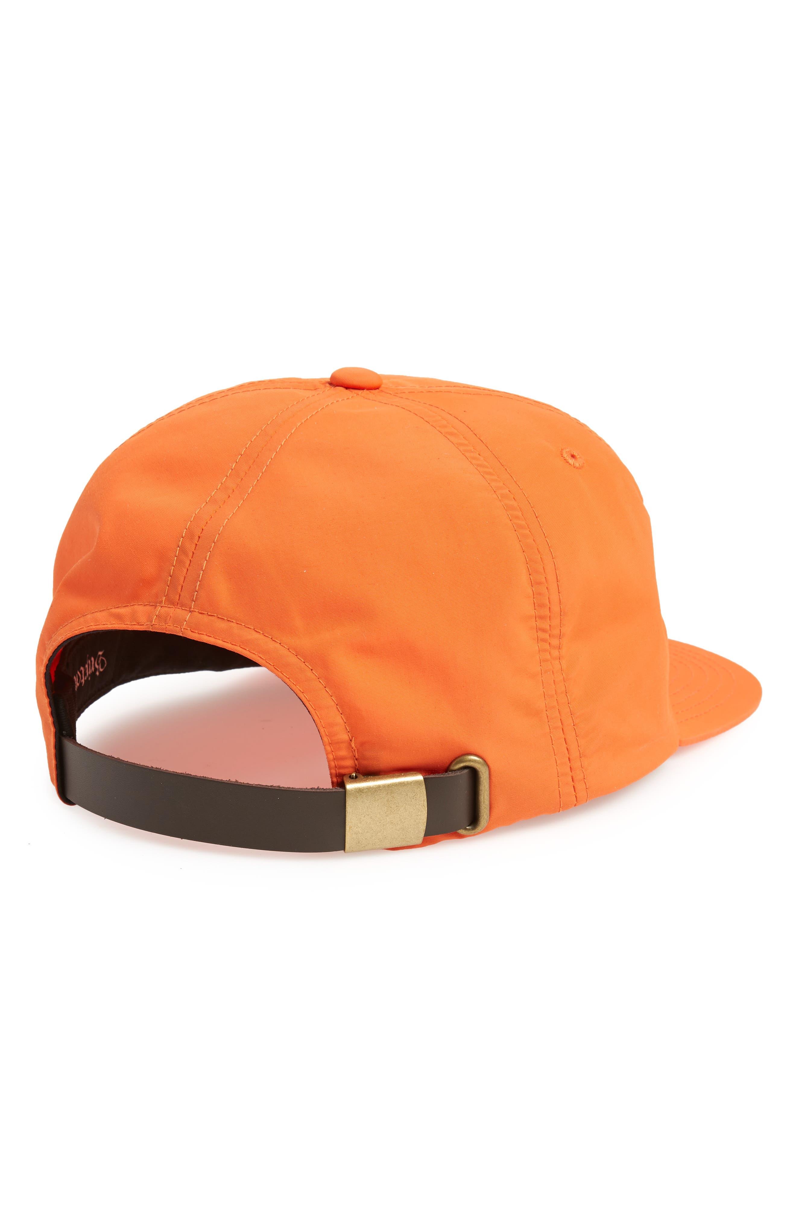 Blaine Ball Cap,                             Alternate thumbnail 2, color,                             Orange