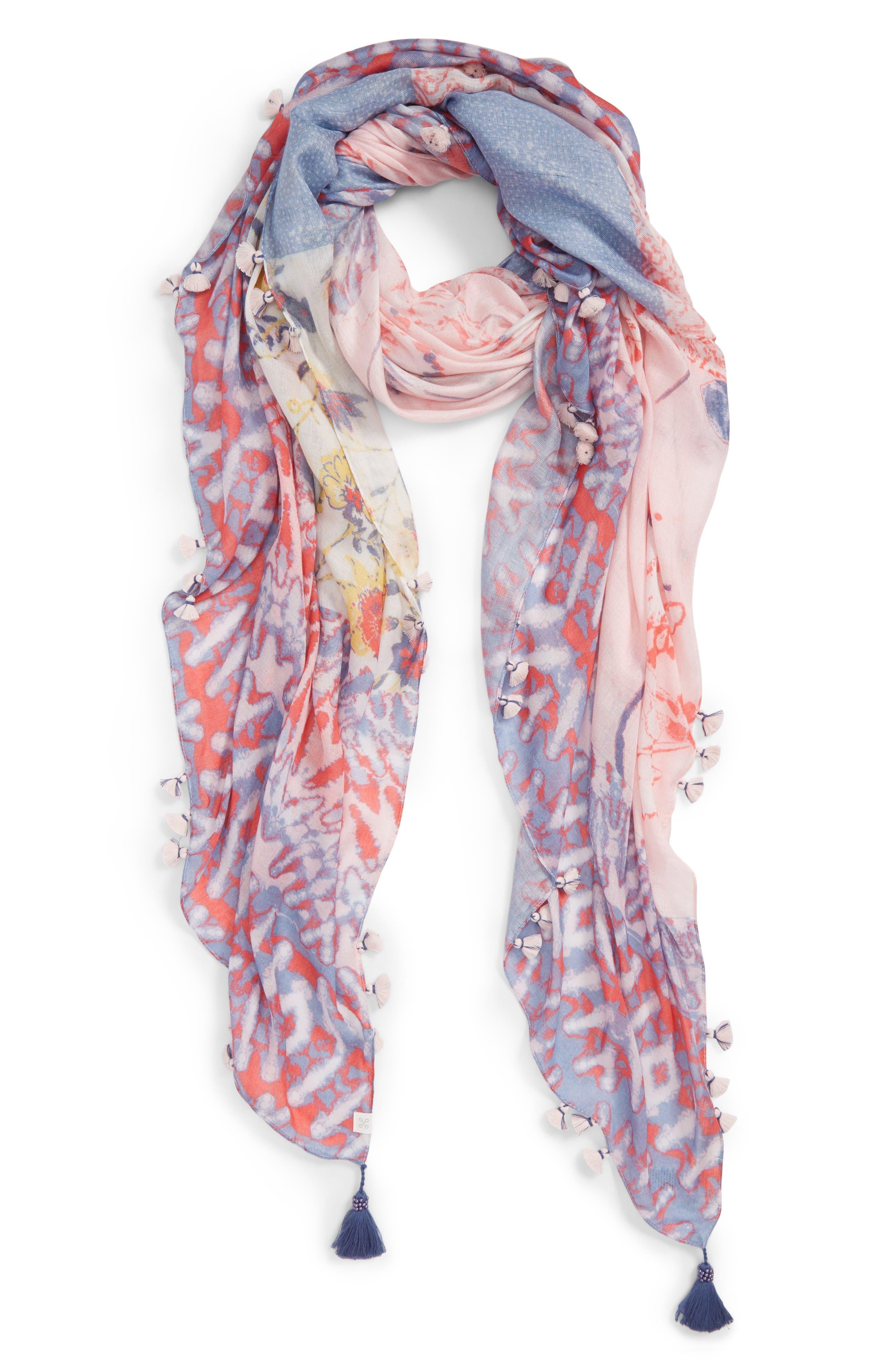 Print Pareo,                         Main,                         color, Pink Coastal Mix