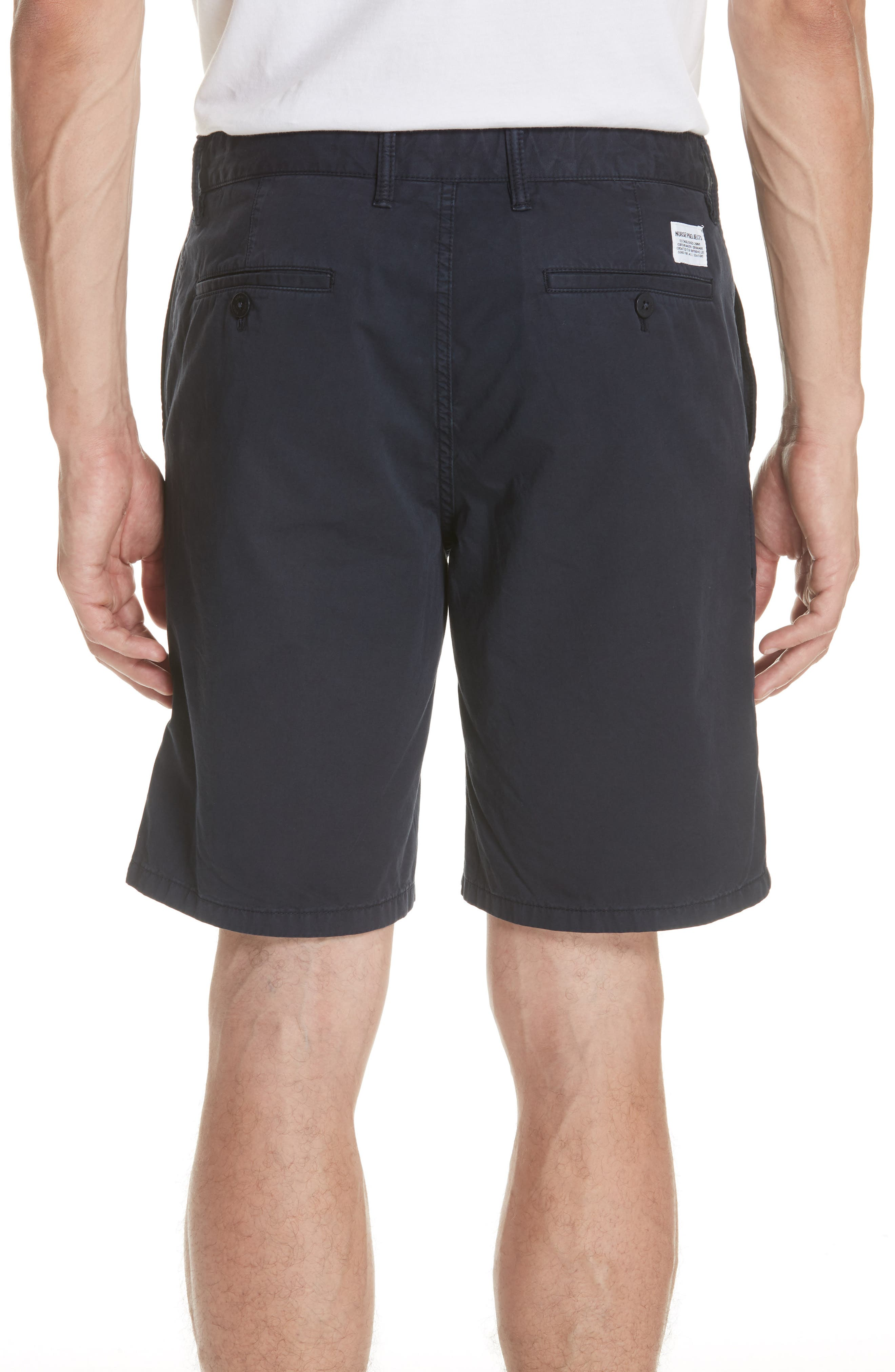 Aros Twill Shorts,                             Alternate thumbnail 2, color,                             Dark Navy