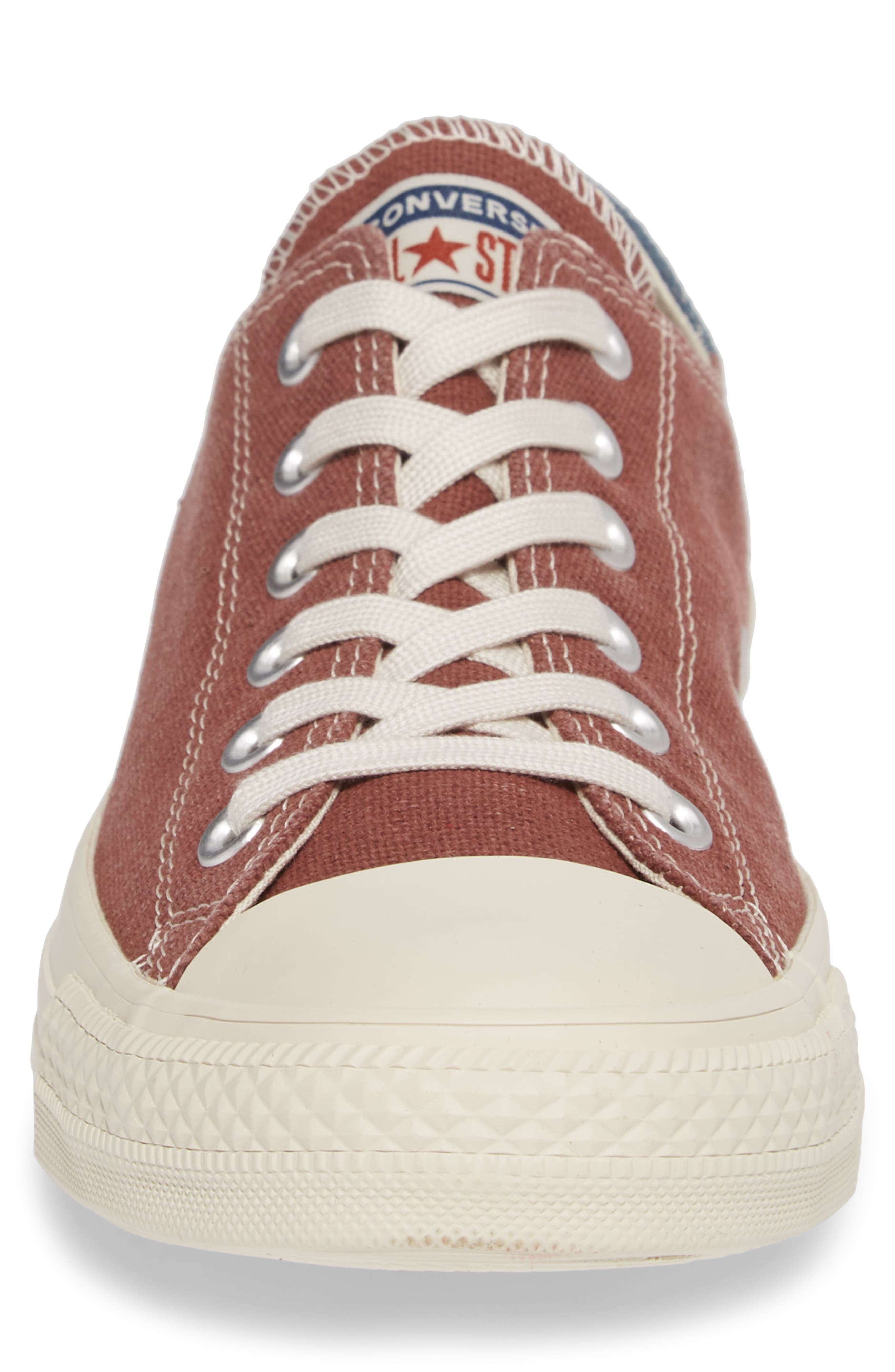 Chuck Taylor<sup>®</sup> All Star<sup>®</sup> Jute Americana Low Top Sneaker,                             Alternate thumbnail 4, color,                             Aegean Storm