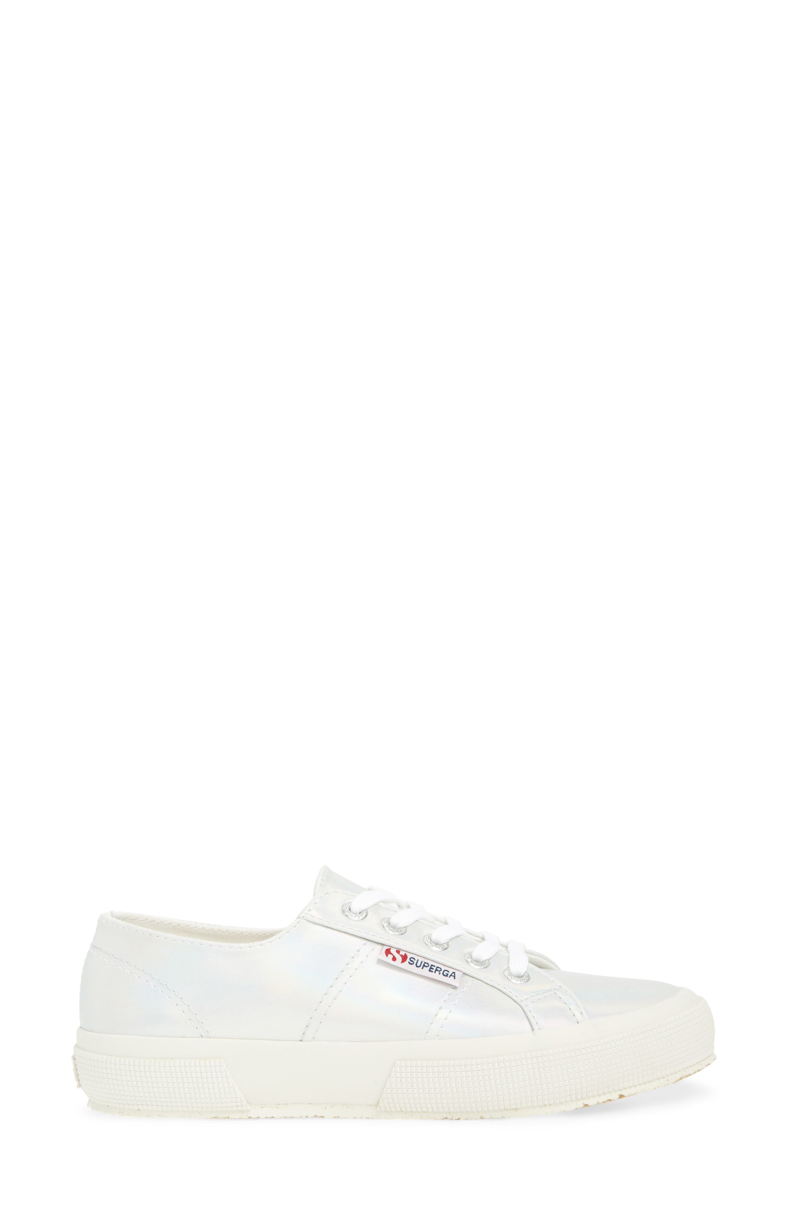 2750 Hologramw Low Top Sneaker,                             Alternate thumbnail 3, color,                             Iridescent