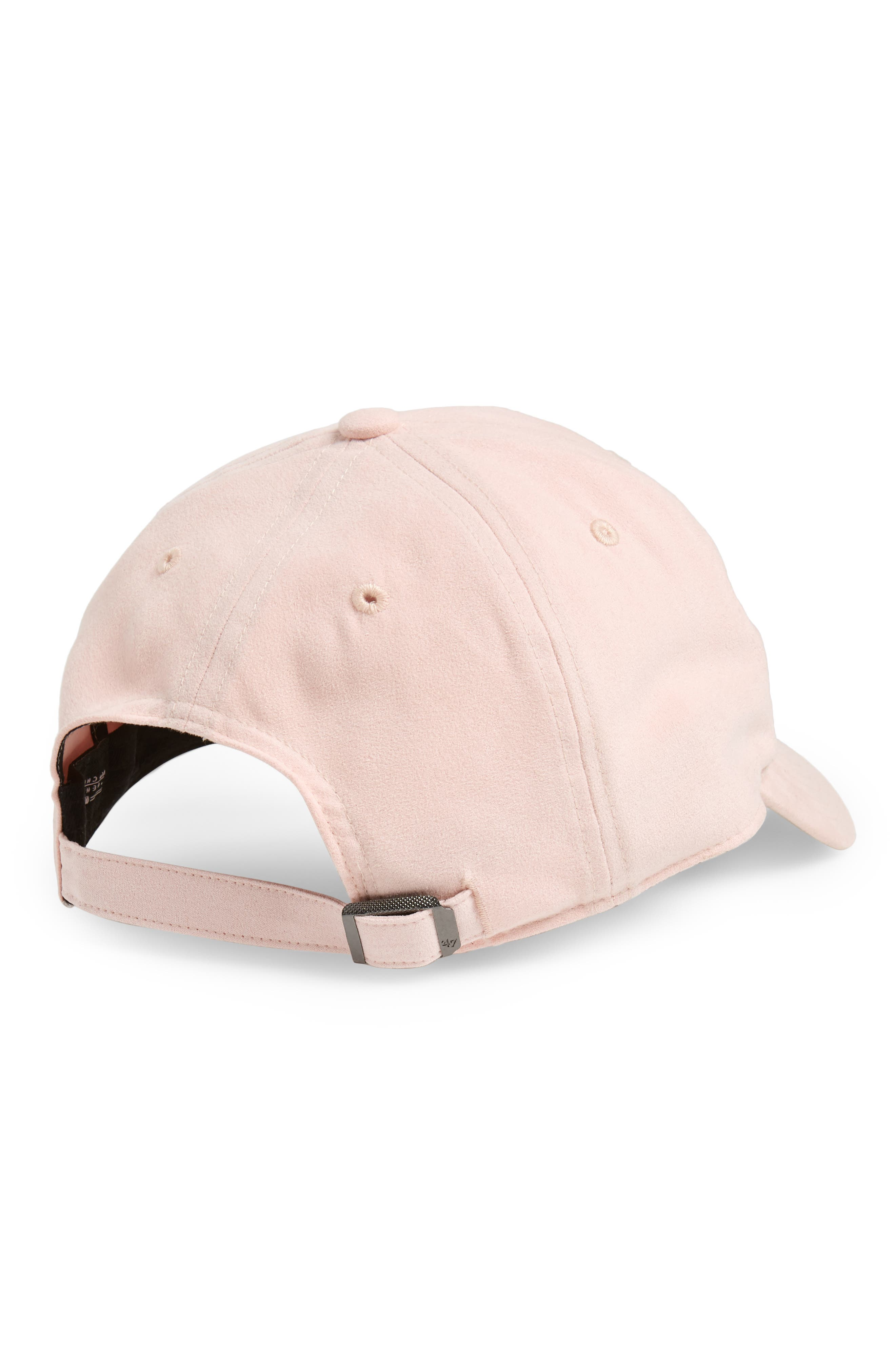Ultrabasic Clean Up Los Angeles Dodgers Baseball Cap,                             Alternate thumbnail 2, color,                             Pink