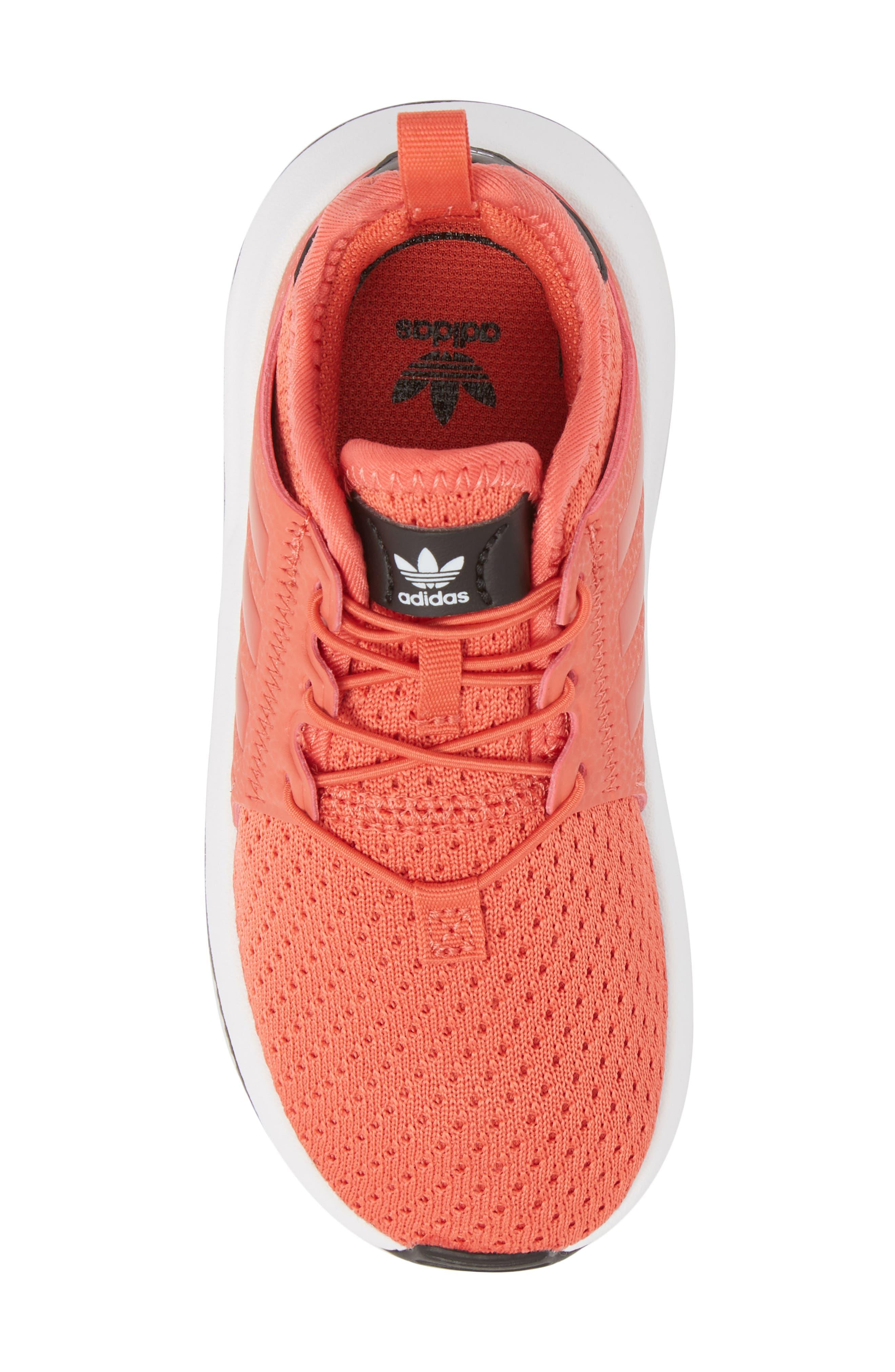 X_PLR Sneaker,                             Alternate thumbnail 4, color,                             Trace Scarlet/ White