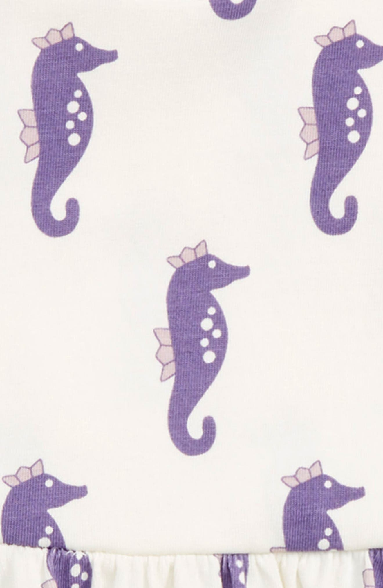 Let's Dance Dress,                             Alternate thumbnail 2, color,                             Little Sea Horse