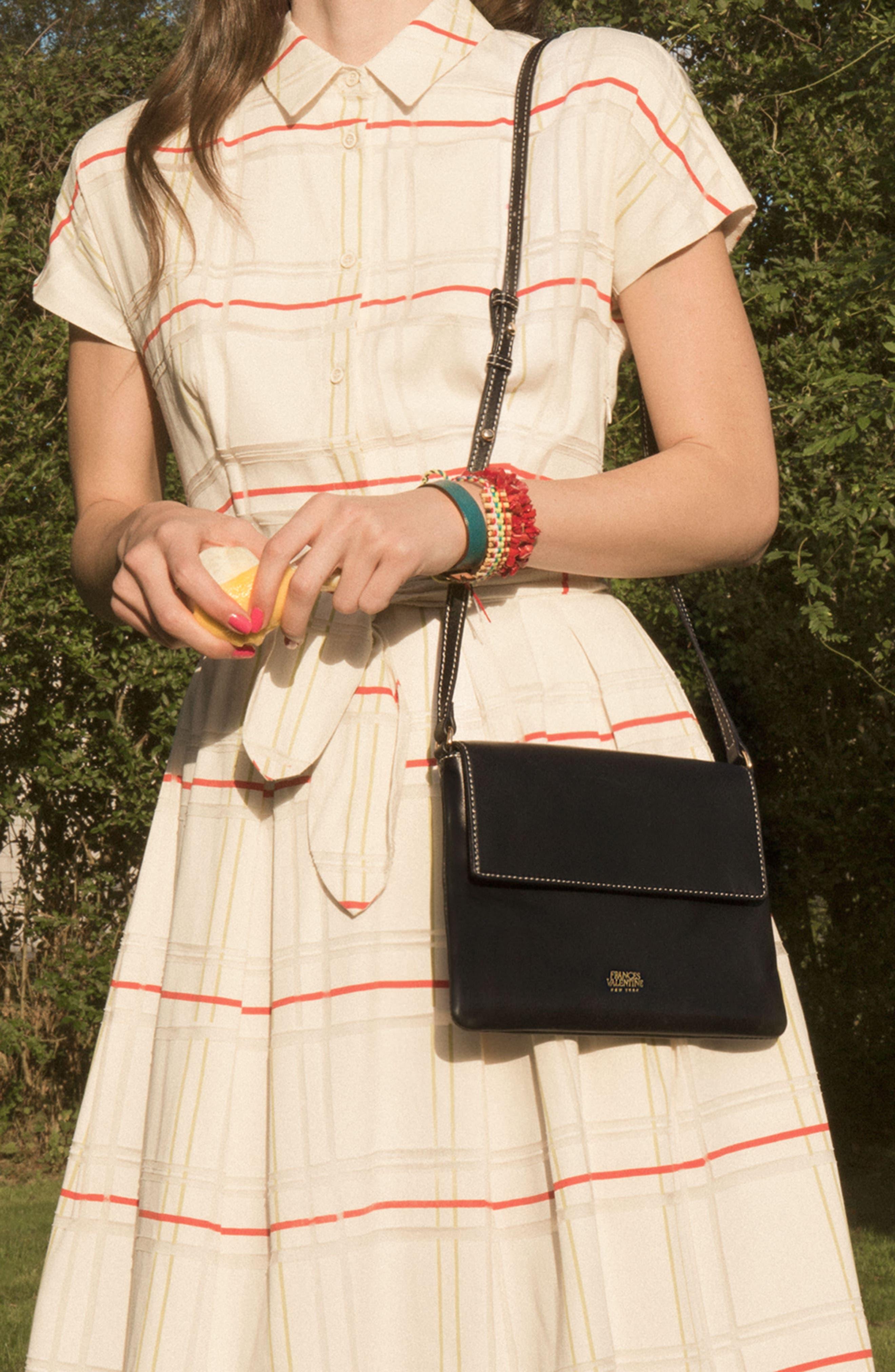 Alternate Image 4  - Frances Valentine Maggie Leather Crossbody Bag