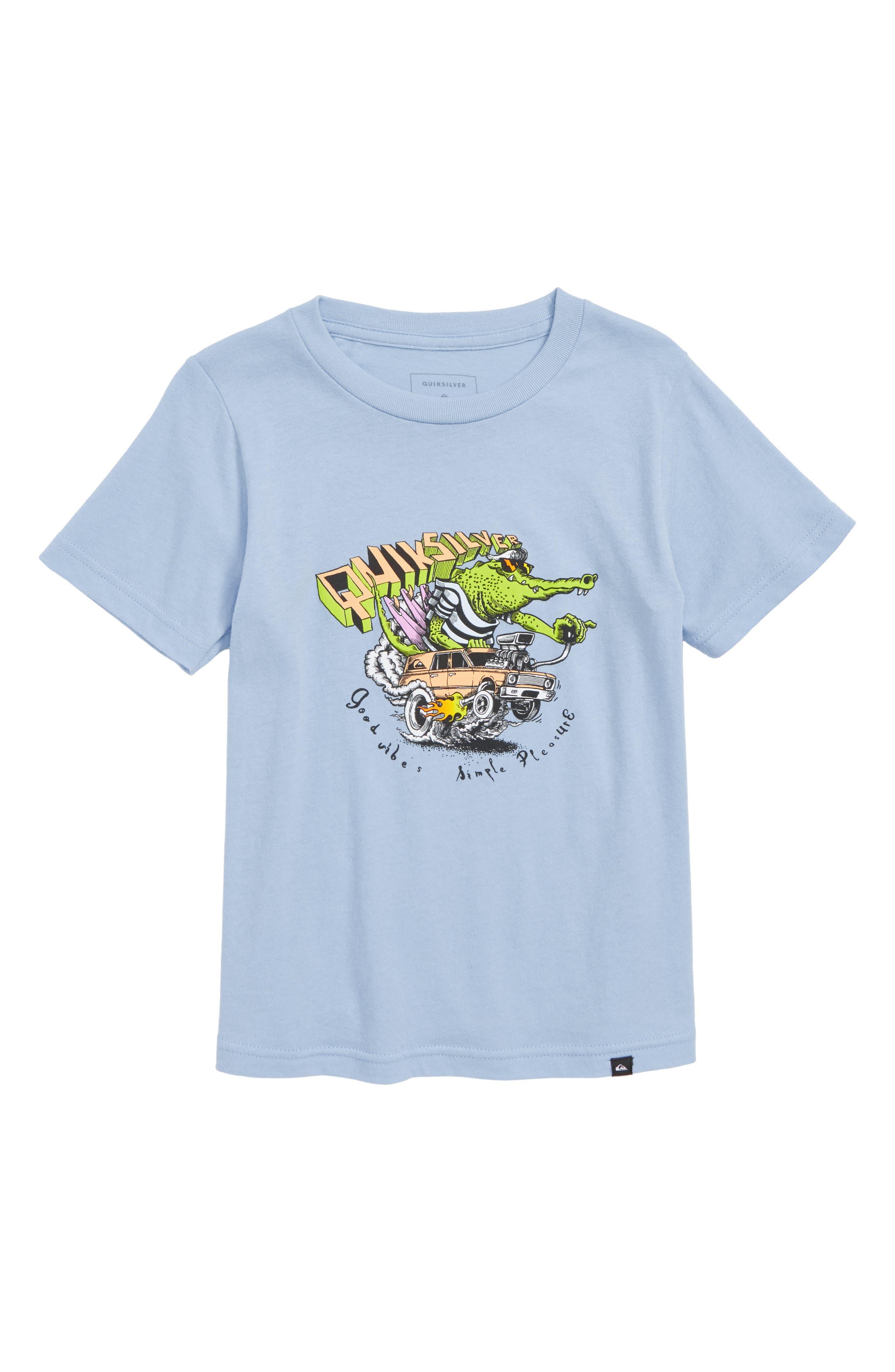 Quiksilver Crocodile Farwest Graphic T-Shirt (Toddler Boys & Little Boys)