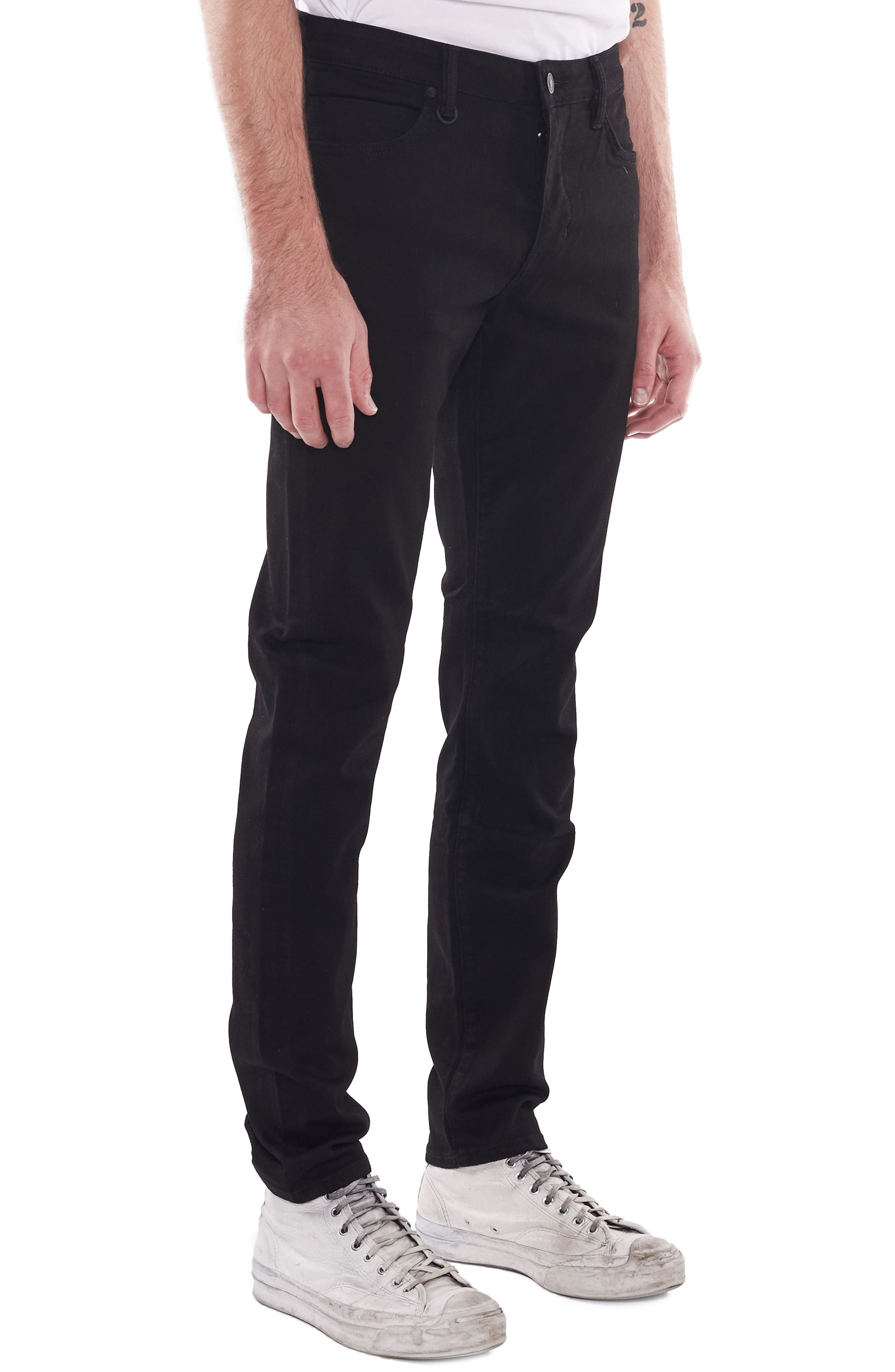 Iggy Skinny Fit Jeans,                             Alternate thumbnail 3, color,                             Perfecto