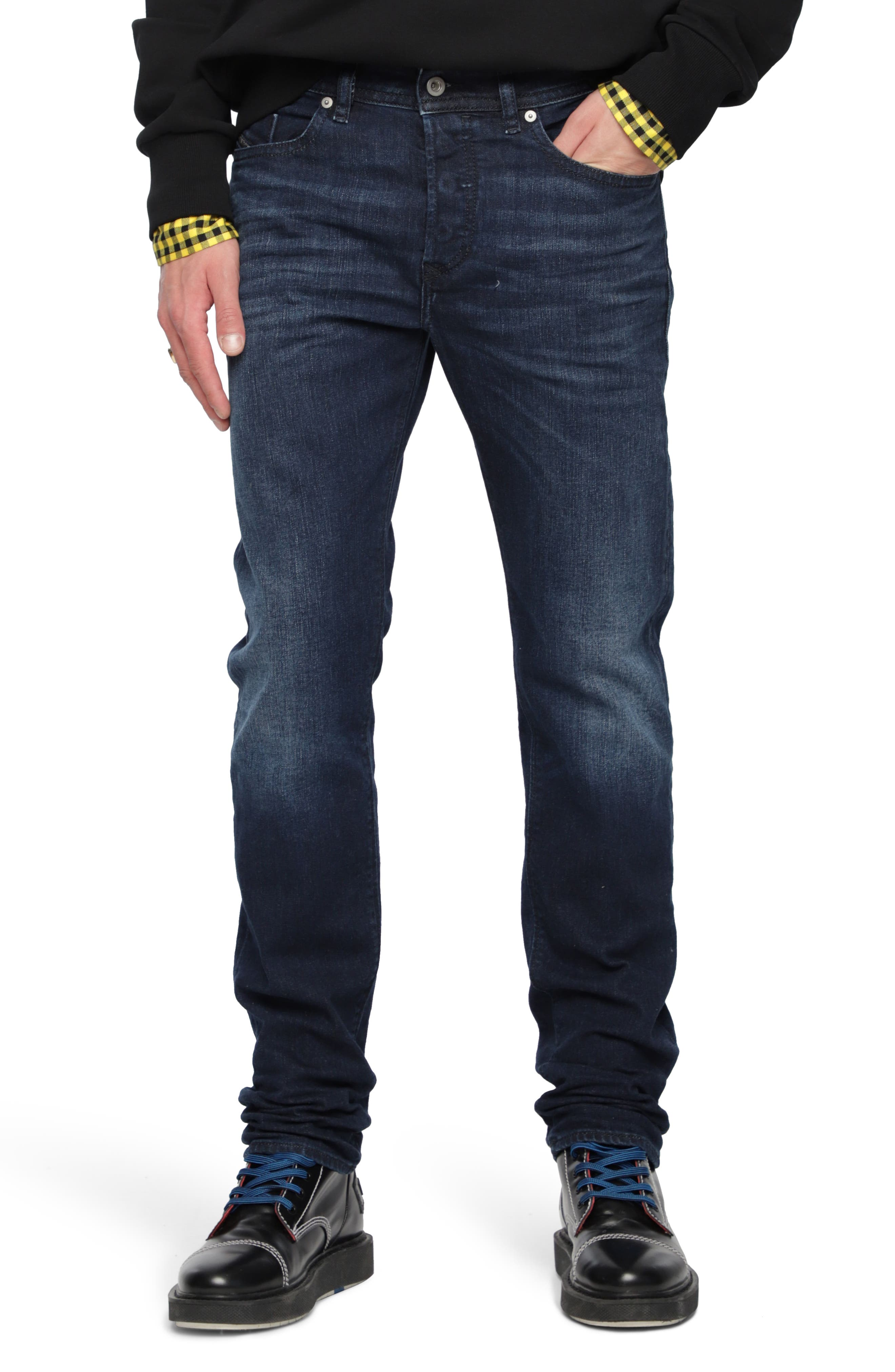 Buster Slim Straight Leg Jeans,                         Main,                         color, 084Vg