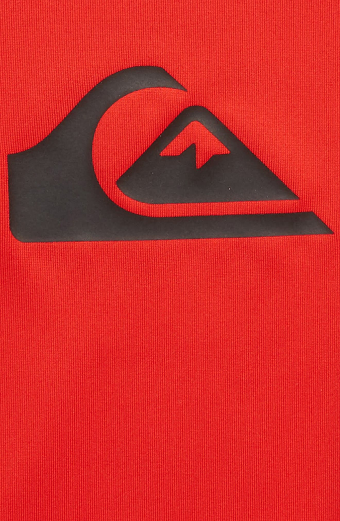 All Time Long Sleeve Rashguard,                             Alternate thumbnail 2, color,                             Quik Red