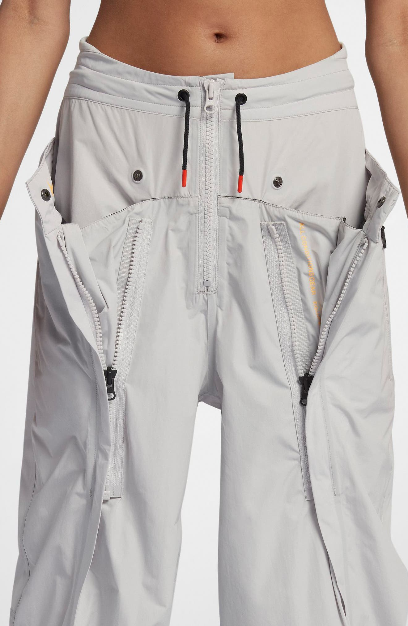 NikeLab ACG Women's Cargo Pants,                             Alternate thumbnail 4, color,                             Vast Grey